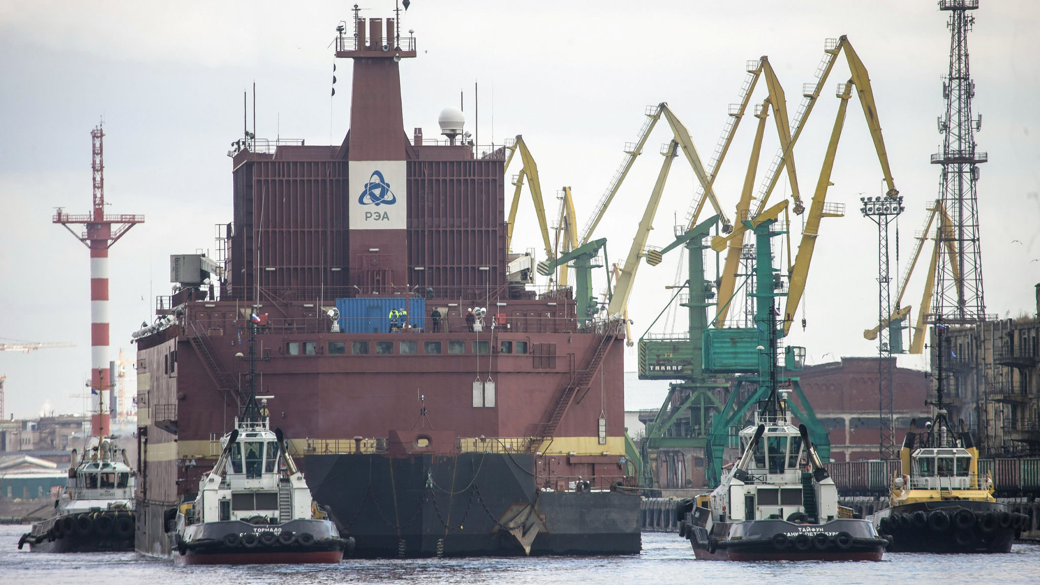 Russia to launch floating nuclear reactor