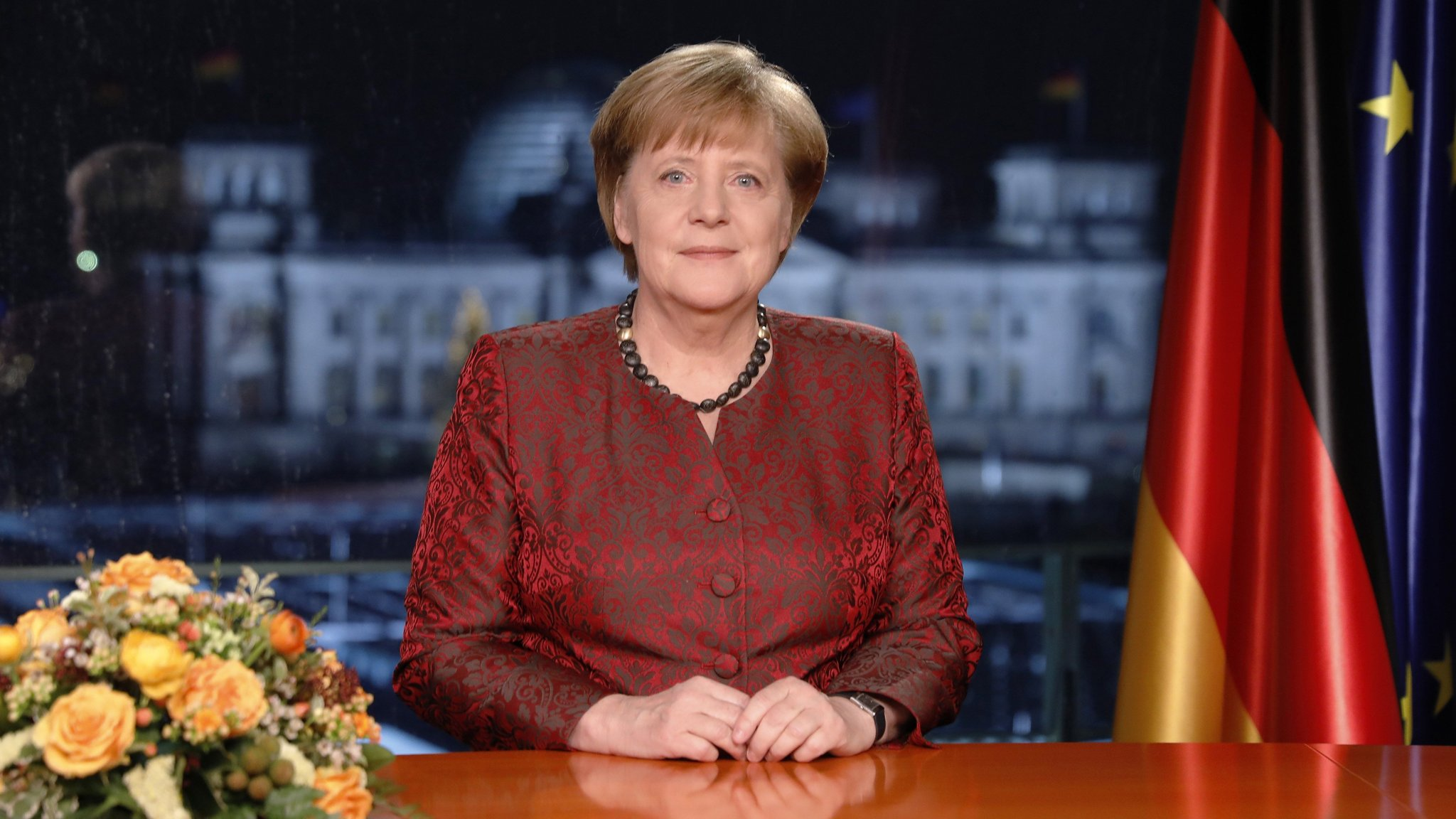 Merkel pledges to work quickly to form new government