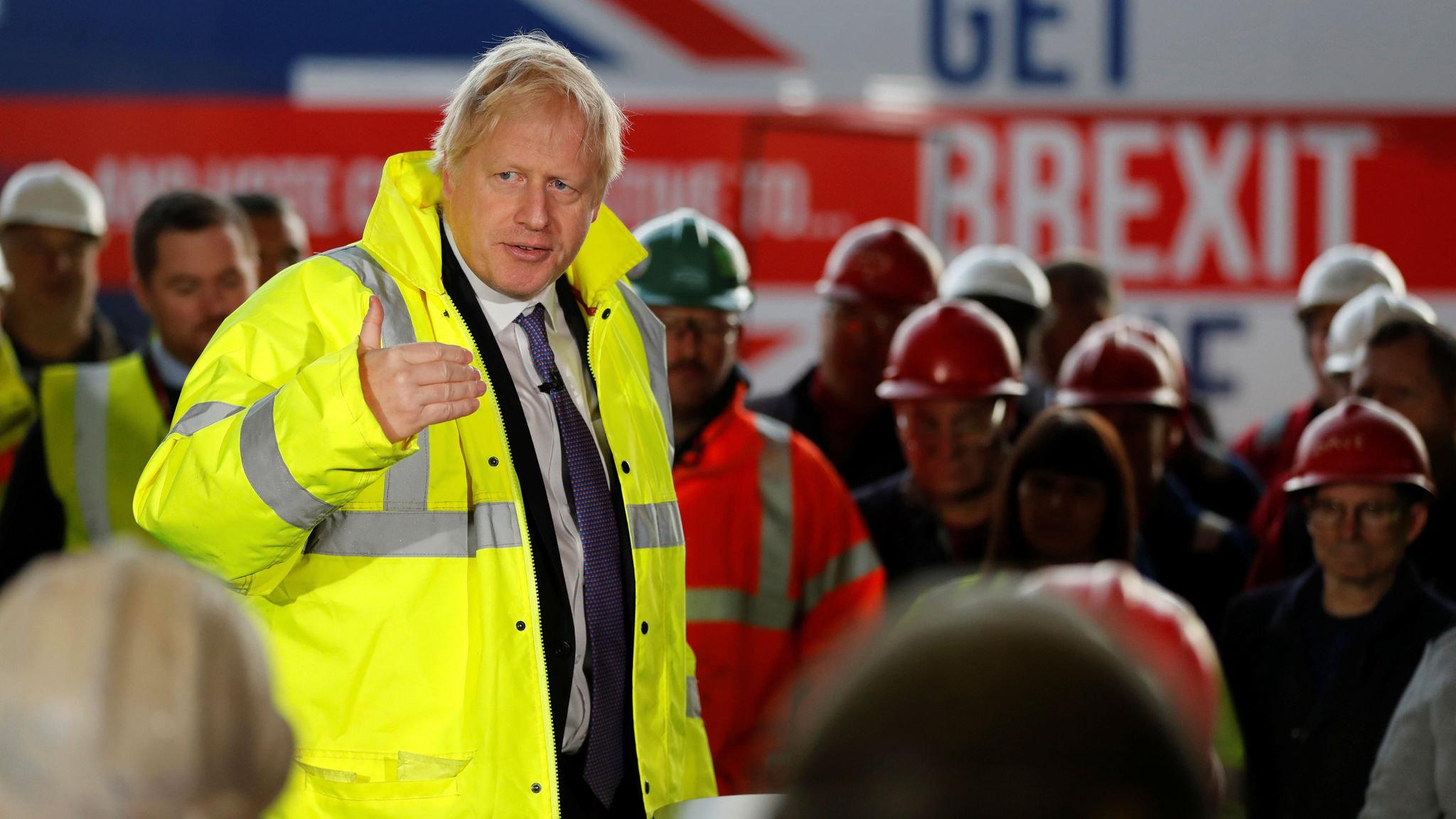 Boris Johnson promises to raise National Insurance threshold