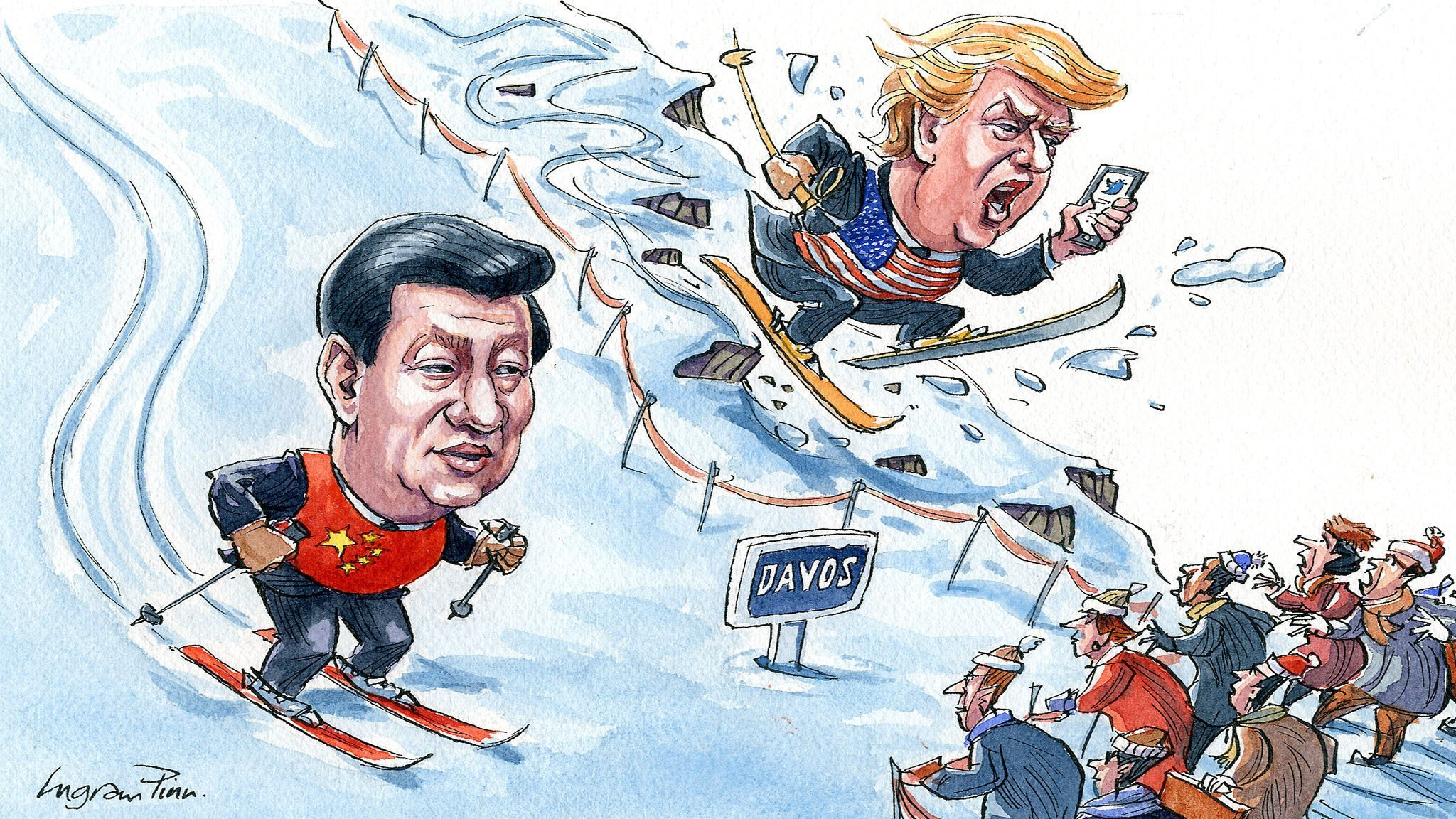 Xi Jinping, Davos and the world in 2017