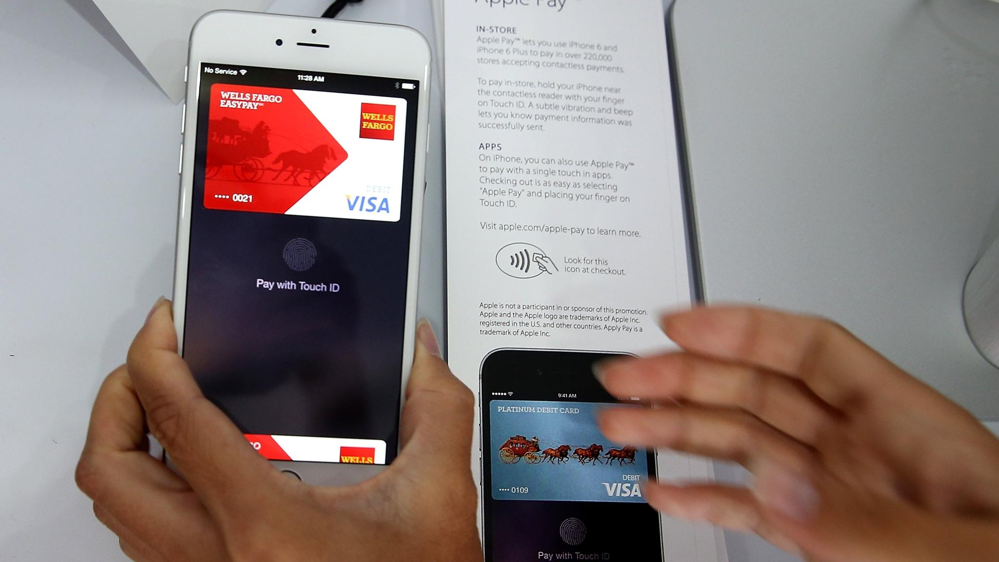 Apple Pay revives mobile wallet drive and triggers deals