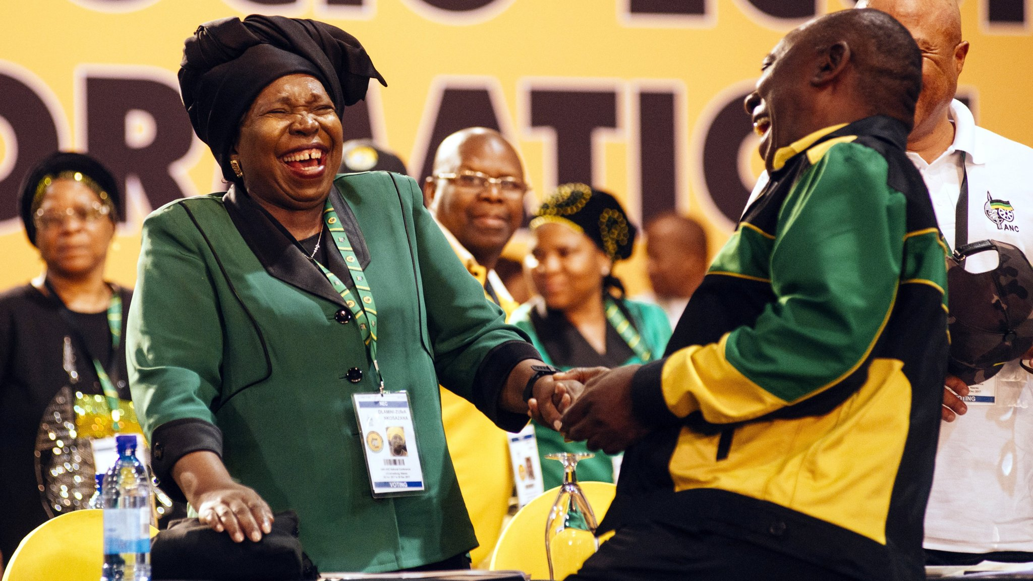 Voting begins in knife-edge ANC leadership contest
