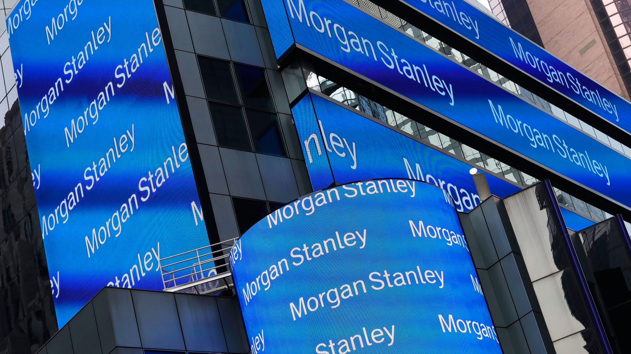 Morgan Stanley investors fret about lower interest rates