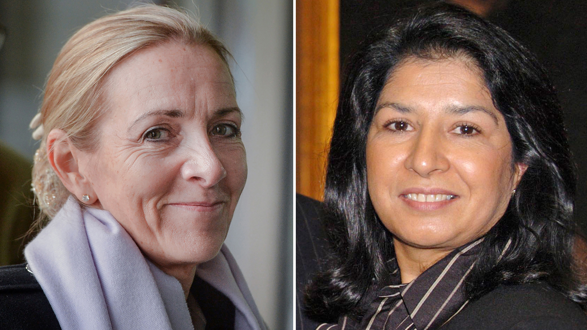 Rona Fairhead and Zahida Manzoor quit government