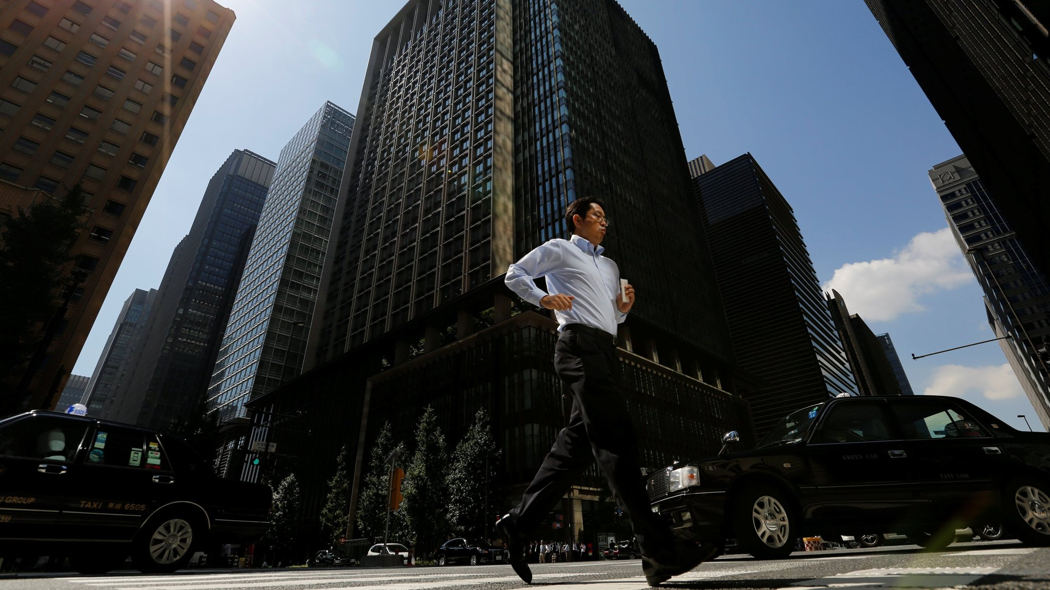 Image result for Japanese business conditions strongest in a decade, Tankan shows