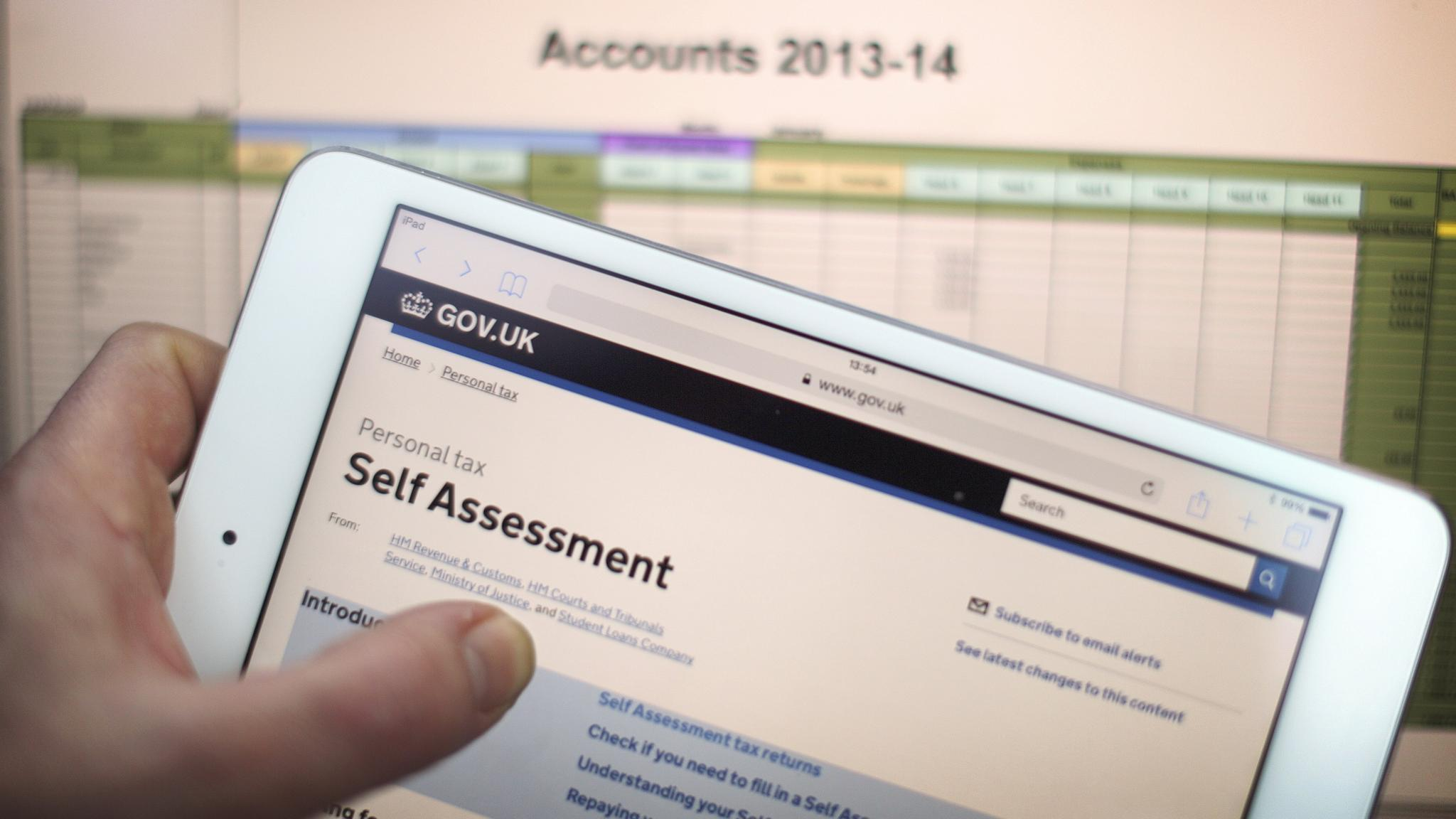 How to file a self assessment tax return negle Images