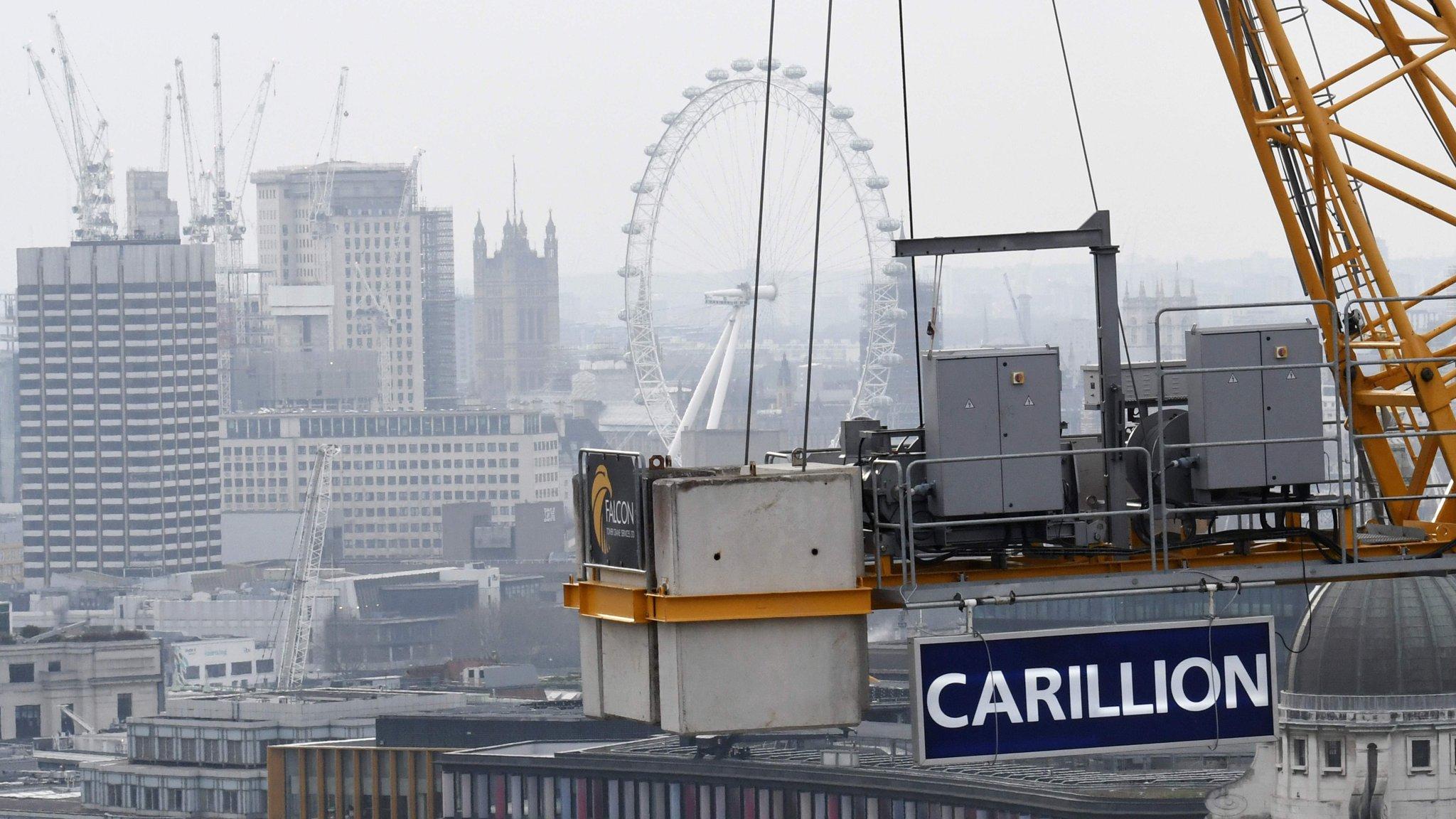 Trust in Carillion evaporates as it scrambles for cash