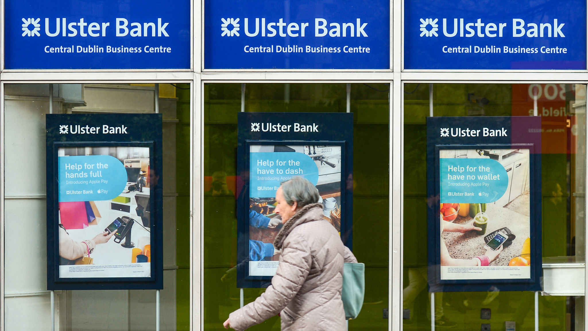 Ulster Bank's computer says no to negative rates