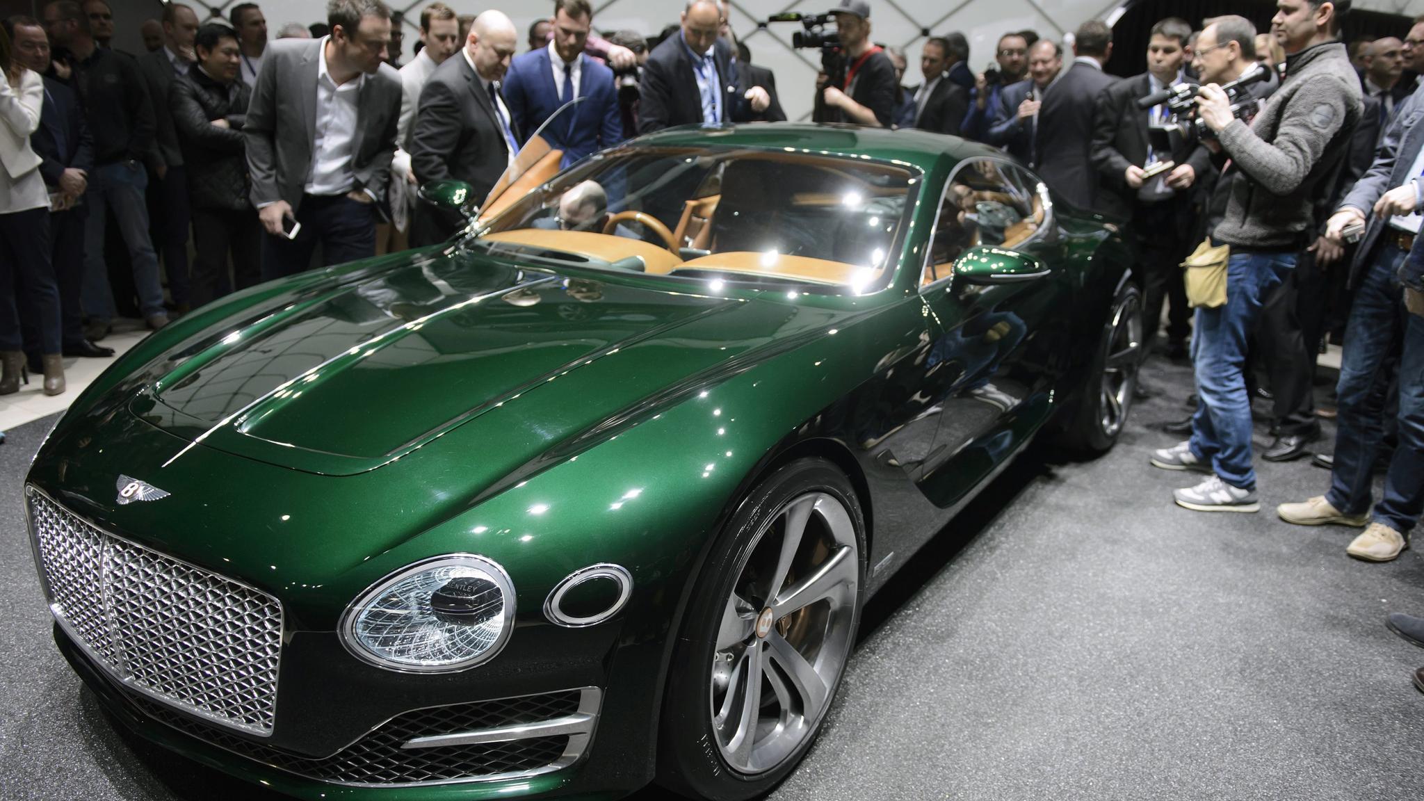 Bentley And Aston Martin Shift Gears At Geneva Motor Show Financial Times