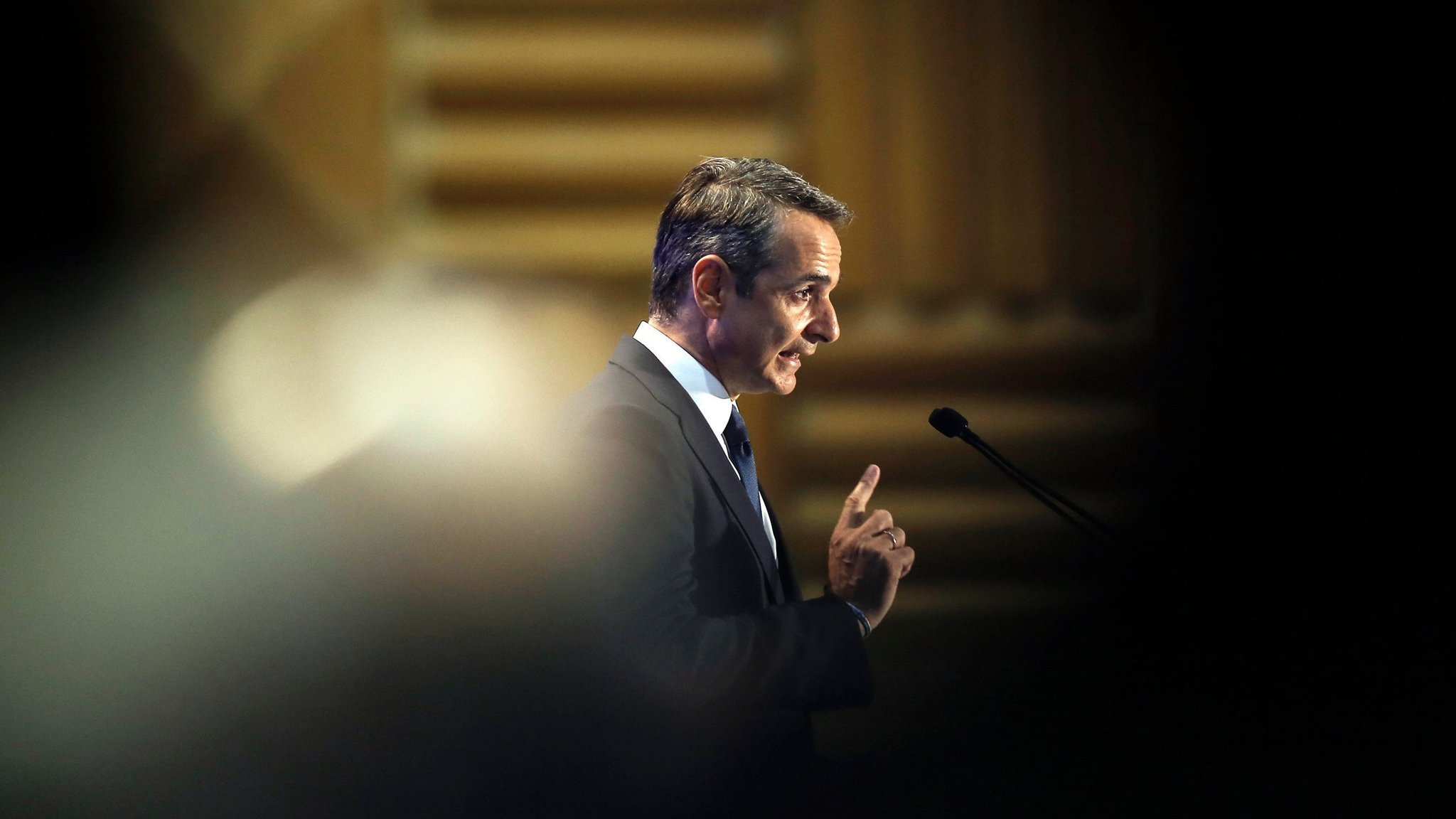 Greece's Mitsotakis calls for tax cuts and reforms