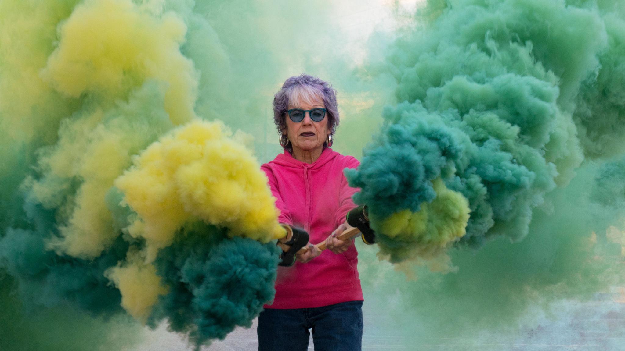 Judy Chicago: vibrant celebration of the female body