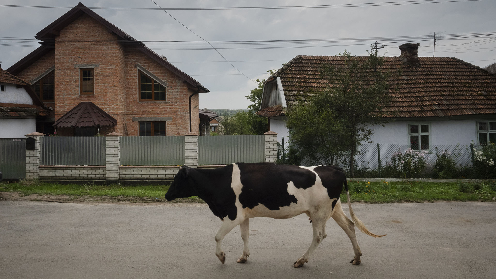 Ukraine's workers abroad fuel property boom back home