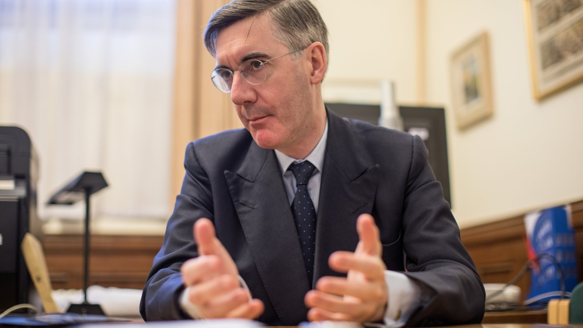 Jacob Rees-Mogg urges Brexit hardliners to compromise