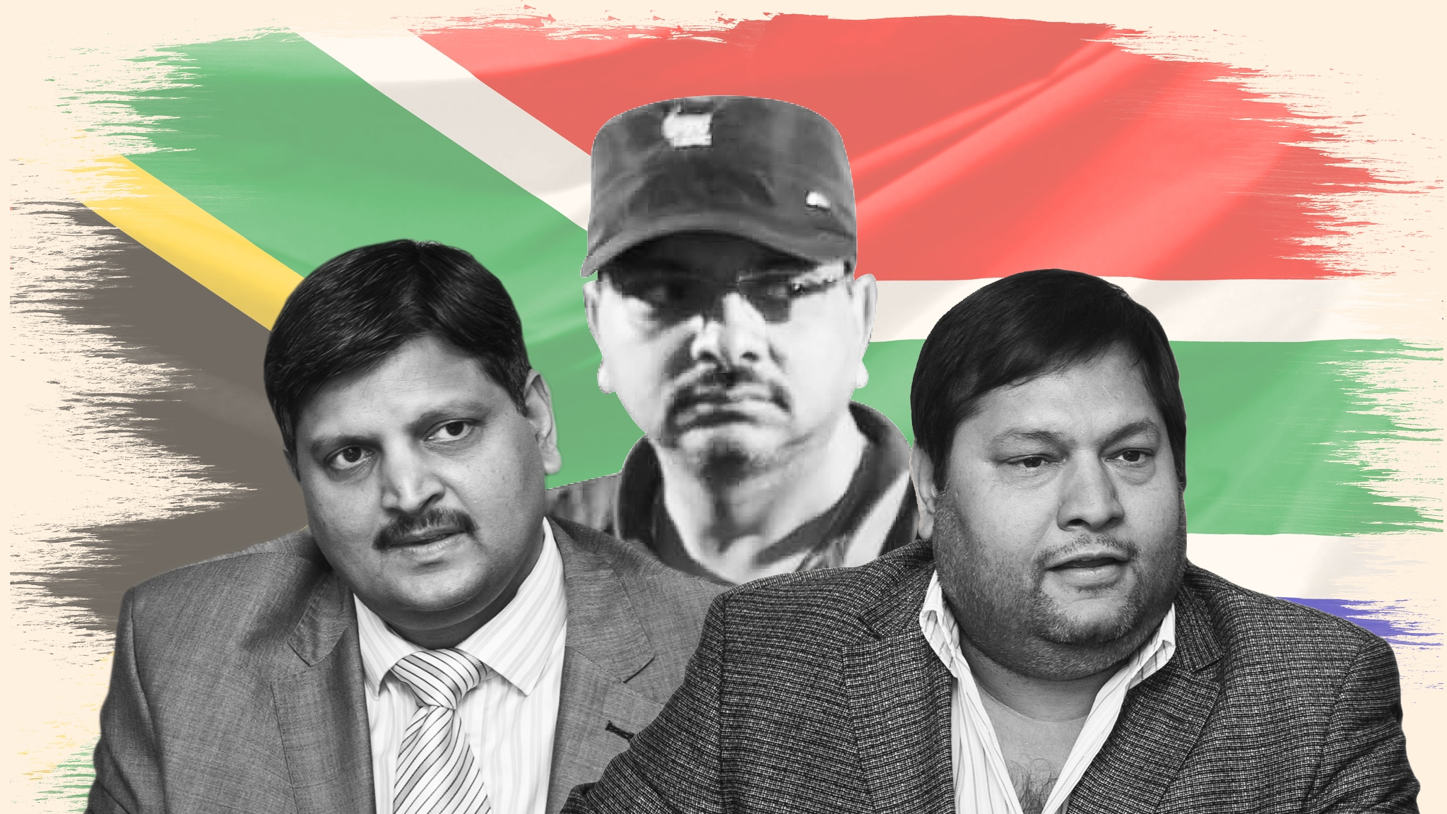 Ajay, Atul and Rajesh Gupta, South Africa's power brokers