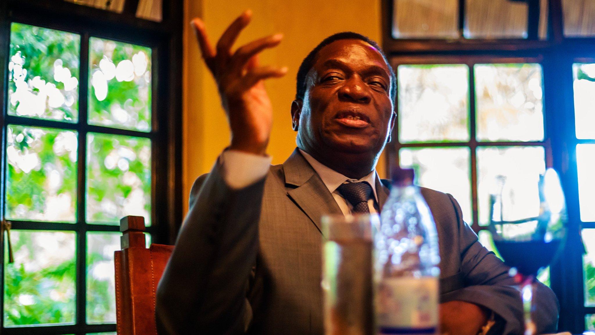 Zimbabwe's new president seeks to build bridges with the west