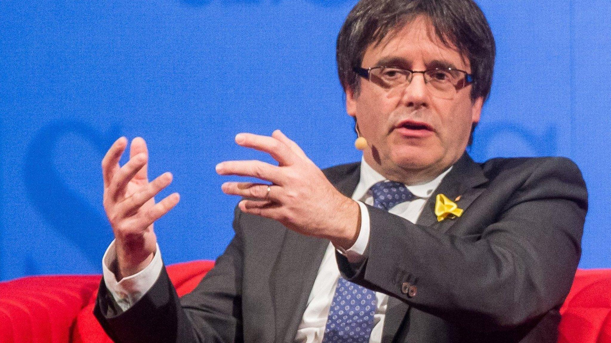 Spain drops European arrest warrant for Carles Puigdemont