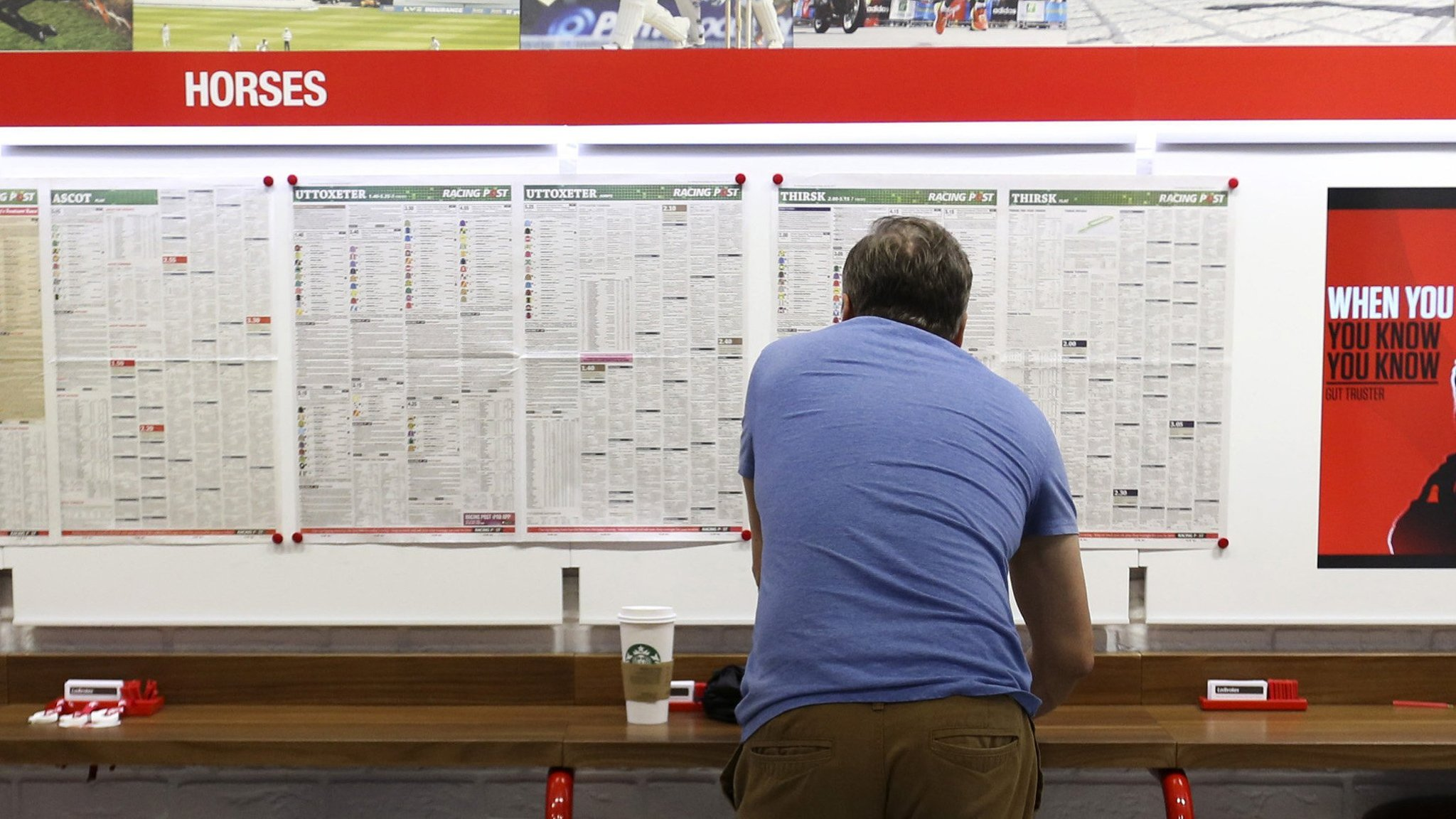 Rise in online gambling boosts profits at Ladbrokes Coral