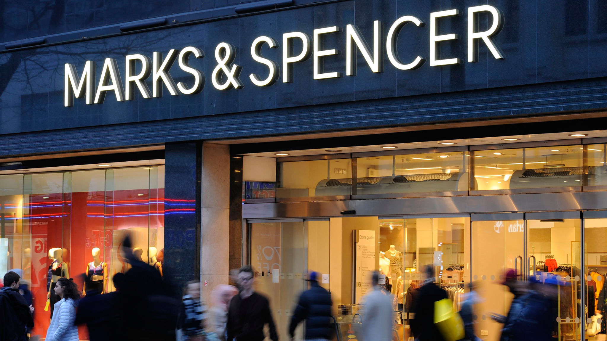 Marks and Spencer warns of 'little improvement' as sales fall