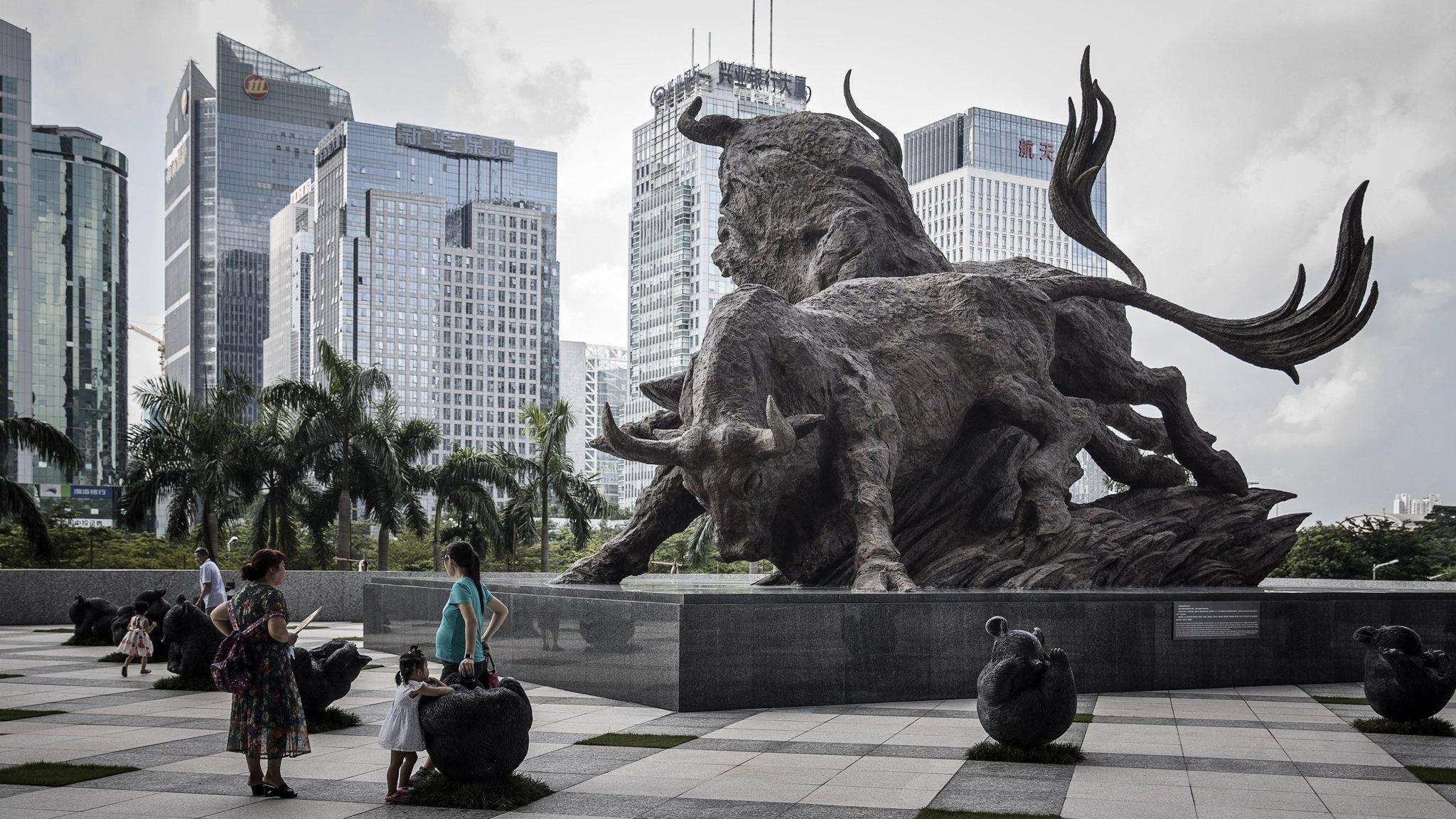 China stocks at risk of outpacing fundamentals