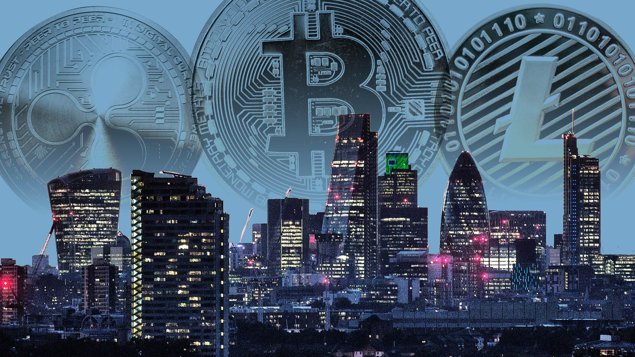 Image result for London (UK) To Display Landmark In Honour Of Cryptocurrencies