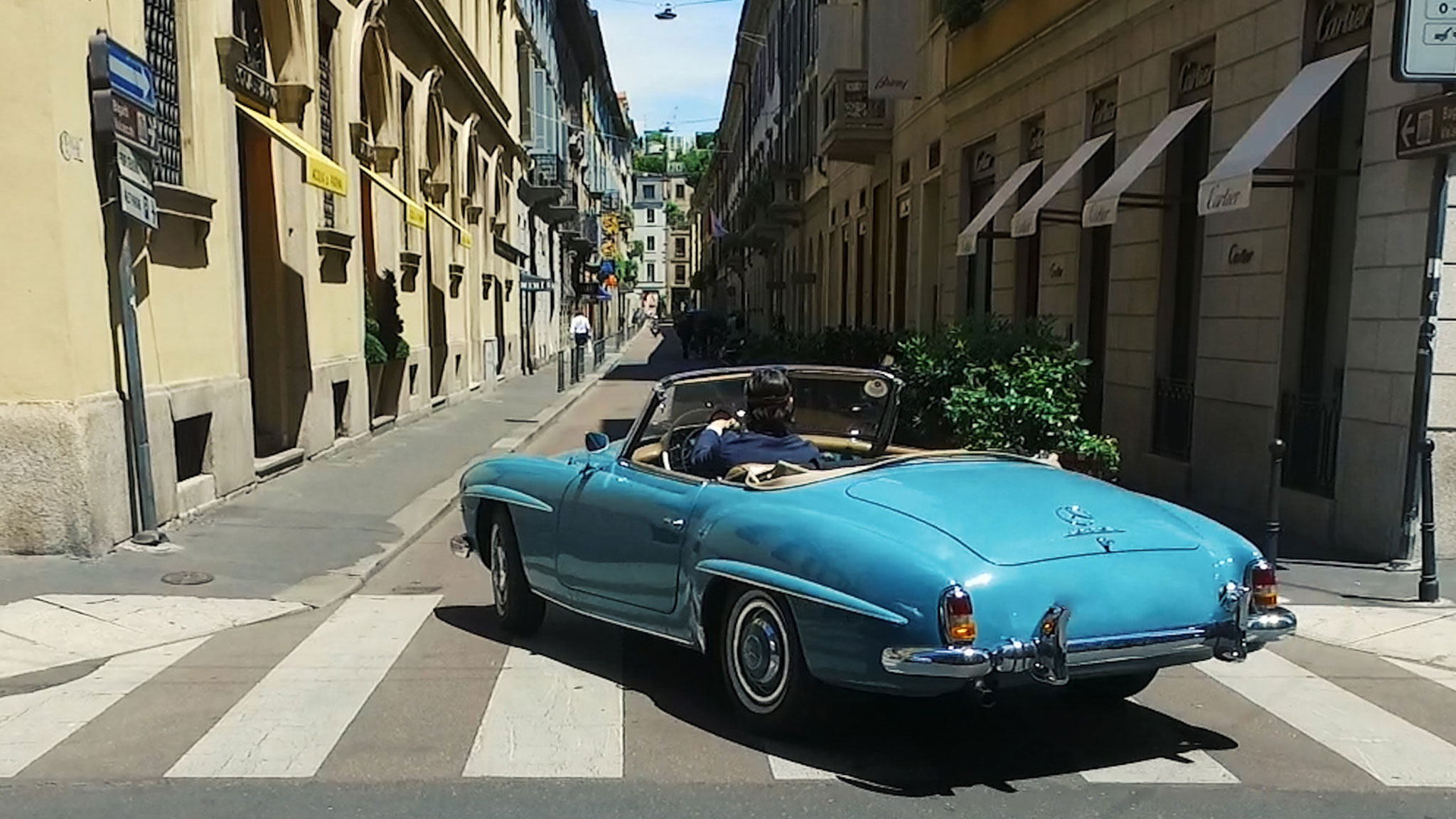 Vroom with a view across Italy in a classic car
