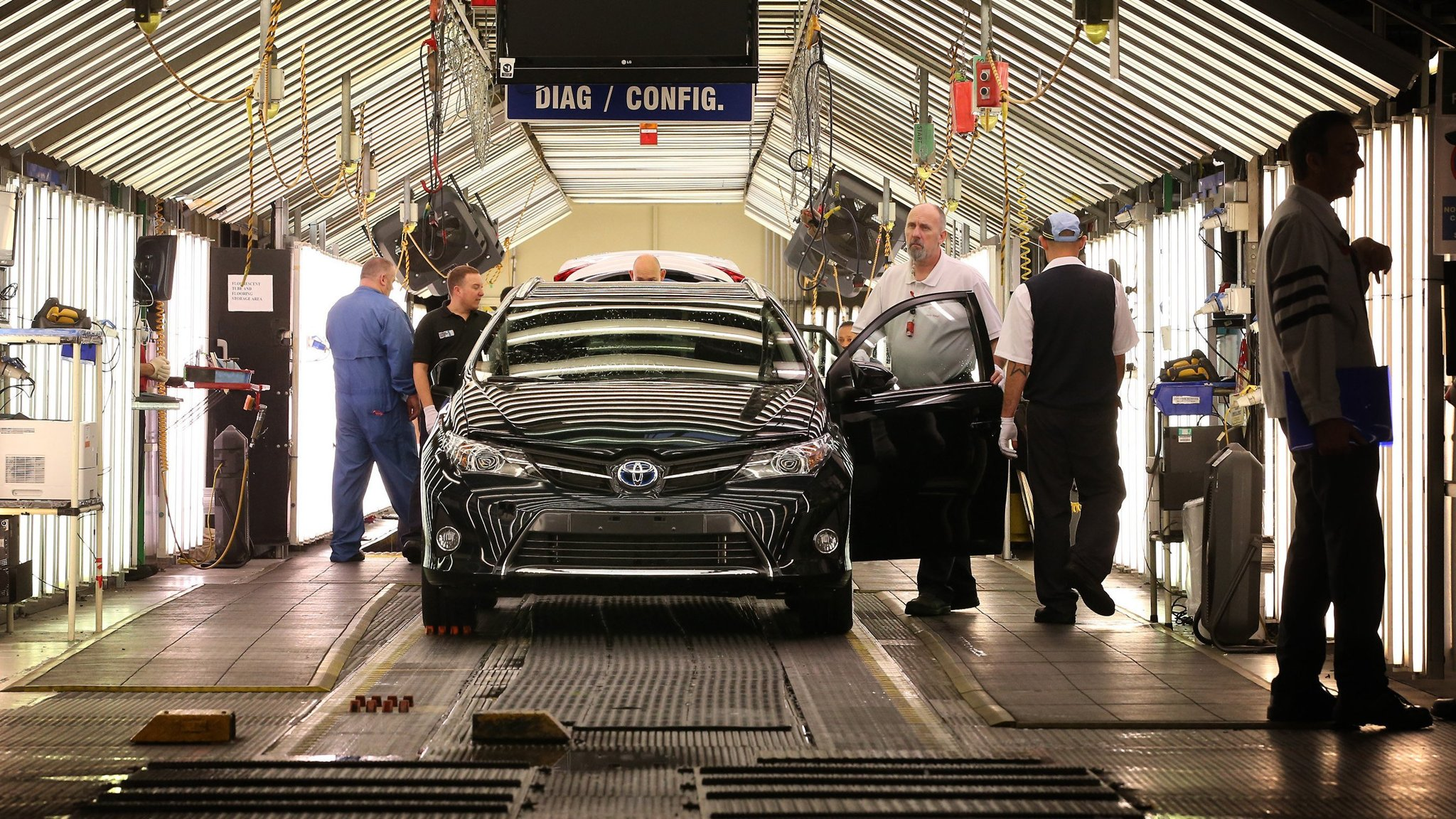 Toyota, HSBC and UBS warn of Brexit damage | Financial Times