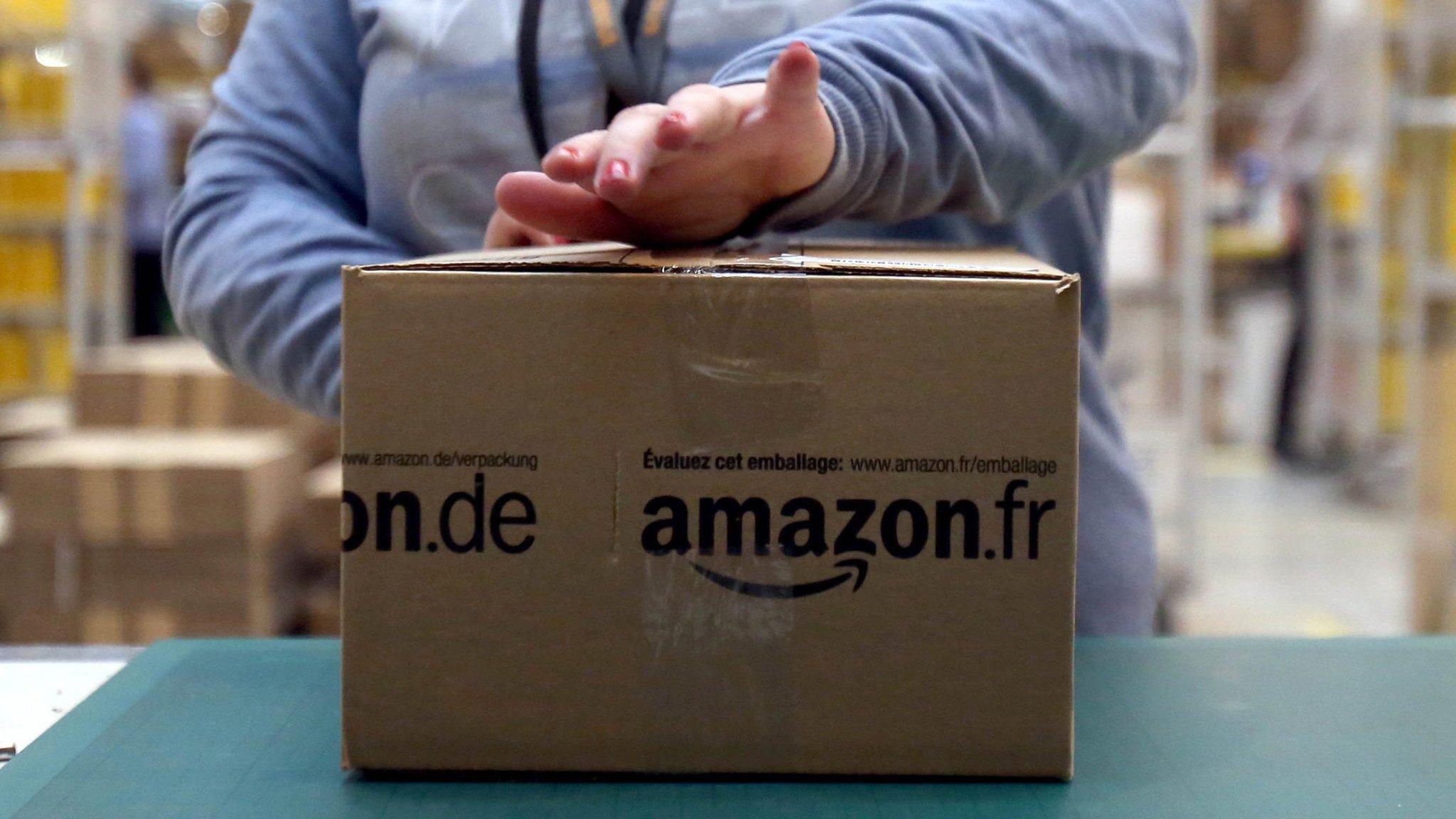 Amazon hits record $1.9bn profit on tax boost