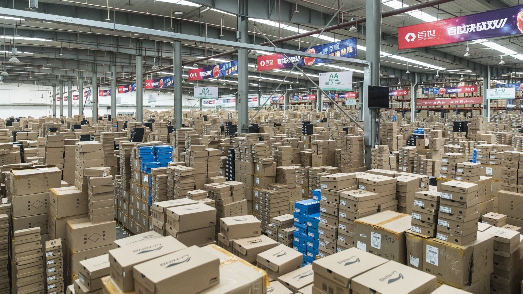 China ecommerce boom fires up logistics sector   Financial Times
