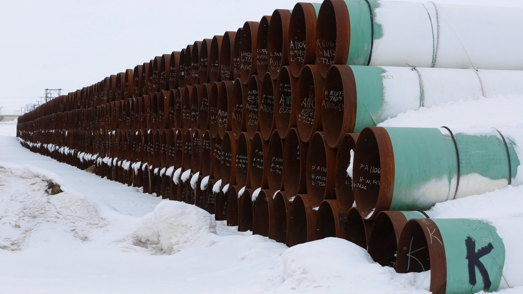 ft.com - Trump approves Keystone XL oil pipeline