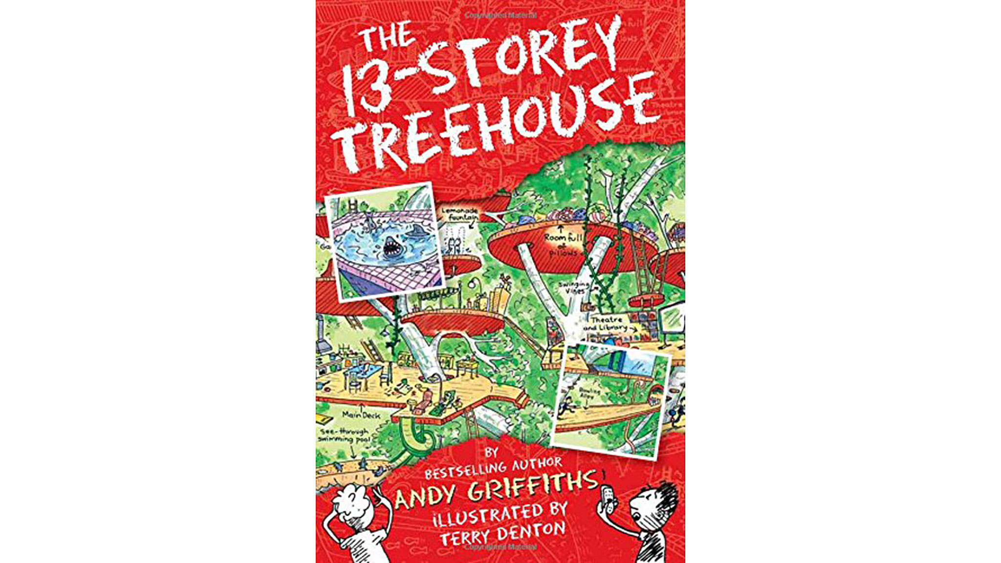 The 13th Storey Treehouse Part - 32: U0027The 13-Storey Treehouseu0027, By Andy Griffiths And Terry Denton