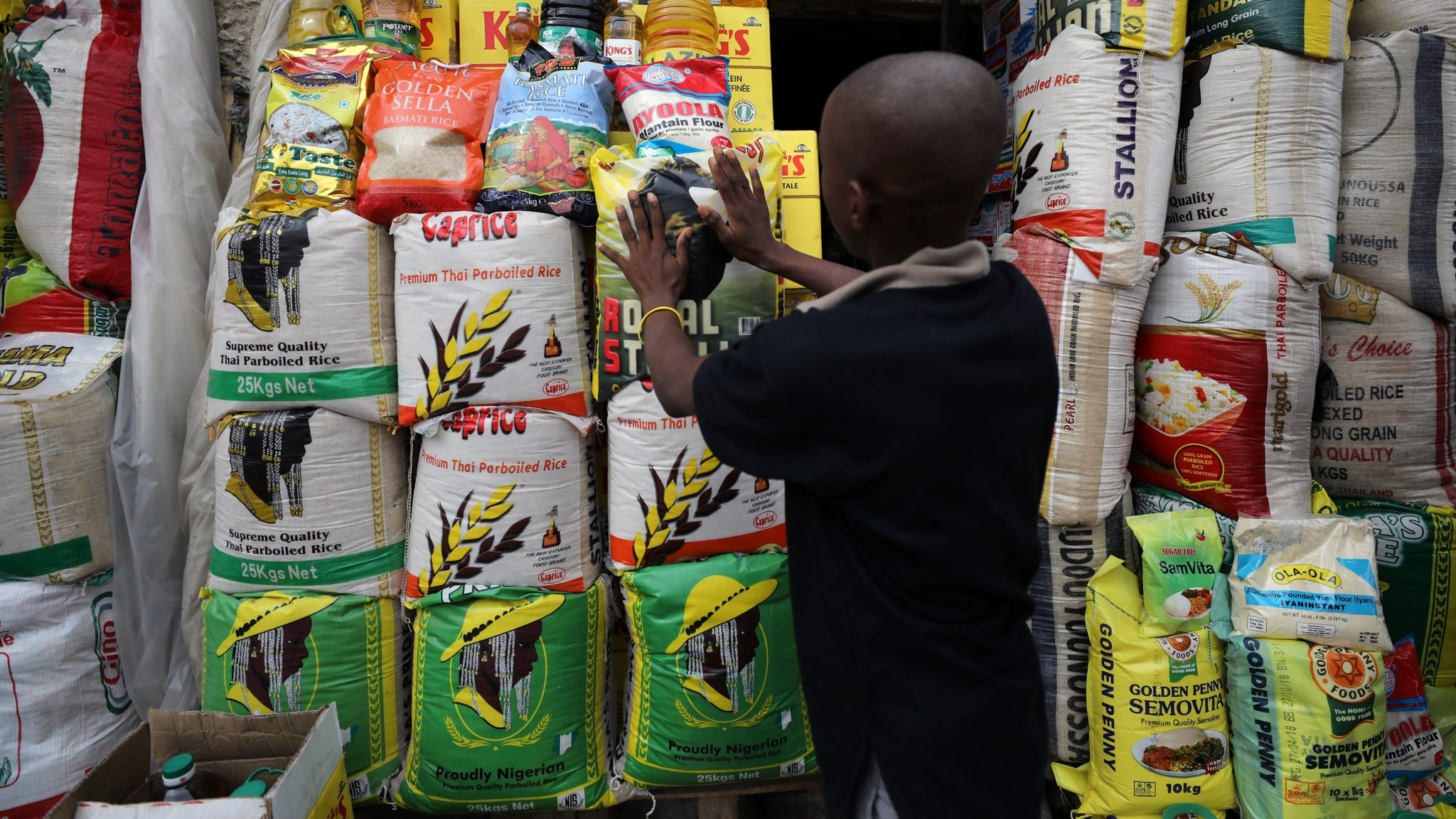 Smuggled rice makes mockery of Nigerian quest to boost