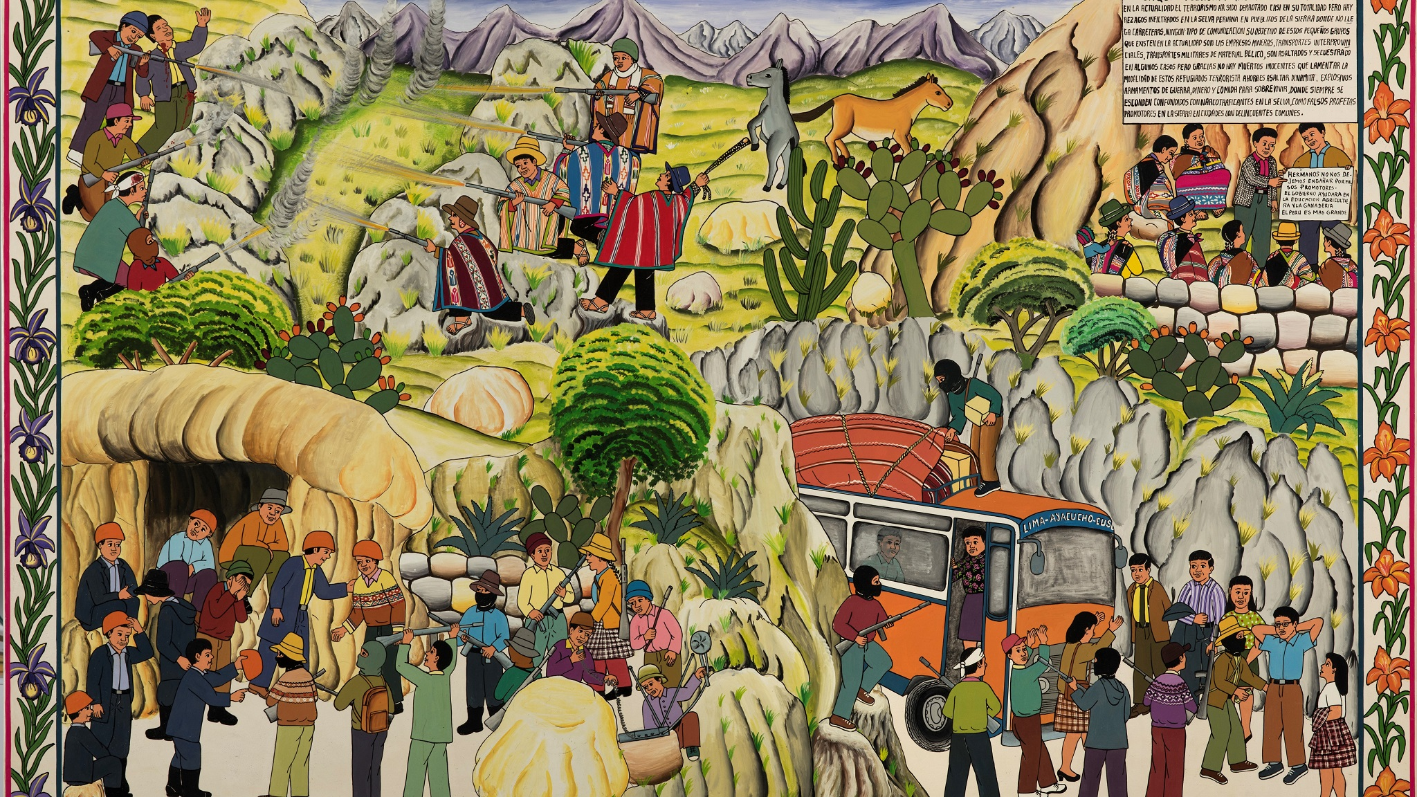 A Fight To Remember The Visual Arts In Peru Financial Times