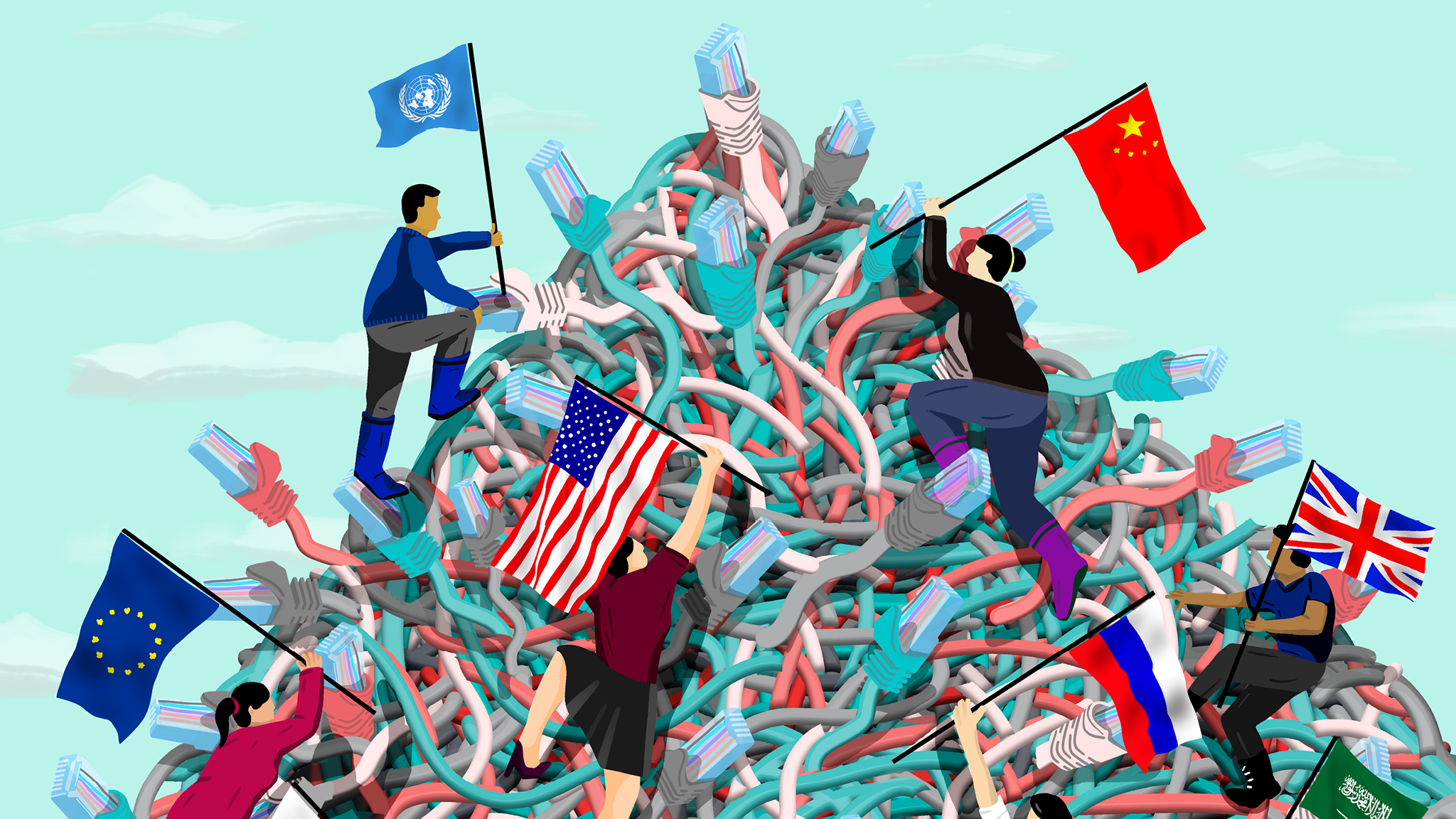 Inside China's controversial mission to reinvent the internet