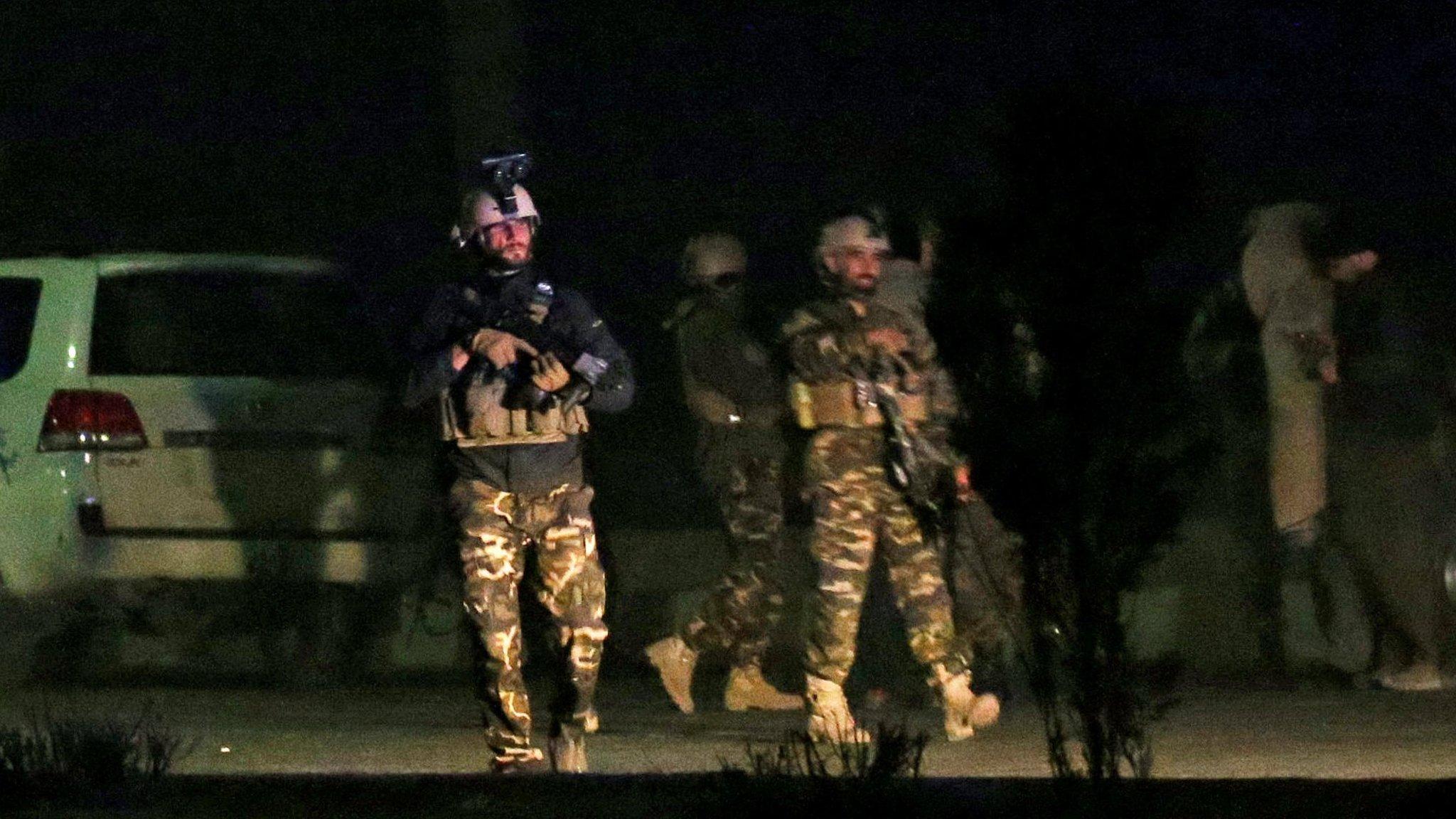 Gunmen attack hotel in Afghan capital Kabul