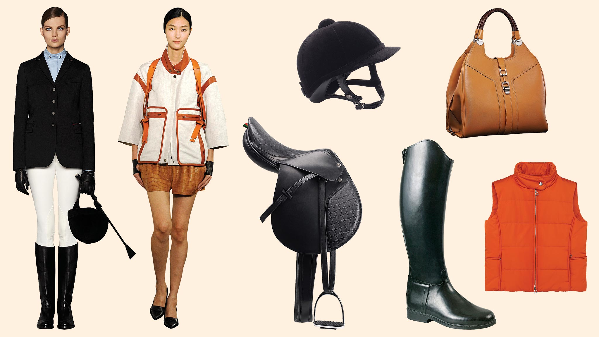 Back In The Saddle Equestrian Inspired Fashion Financial Times