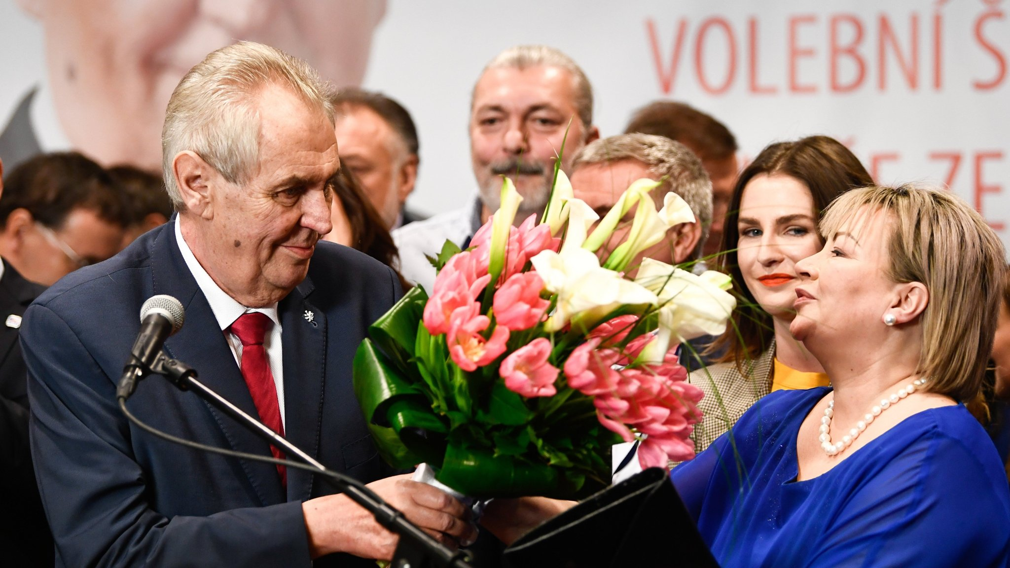 Milos Zeman wins second term as Czech president