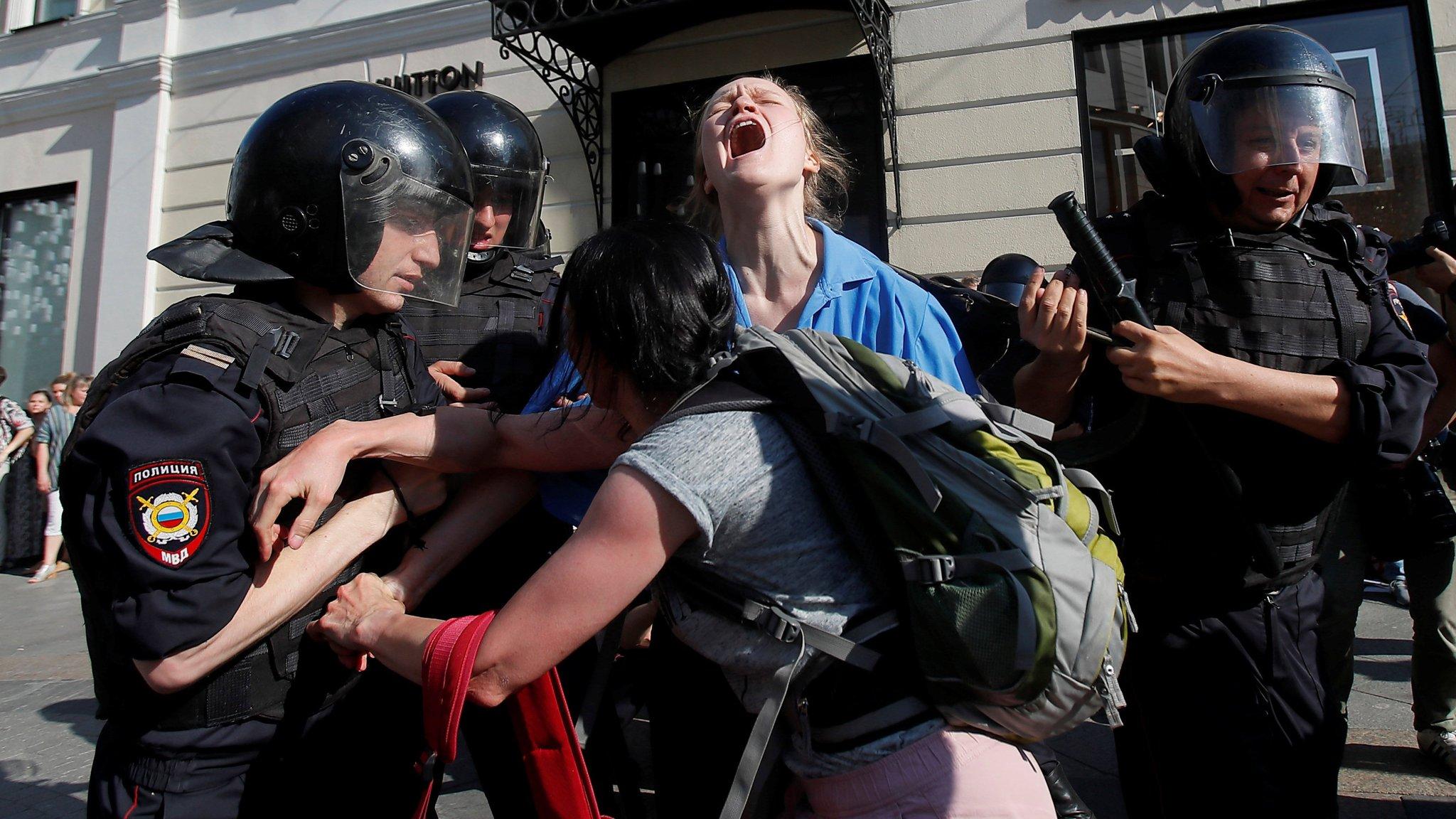 Russians feel the pain of Vladimir Putin's regime