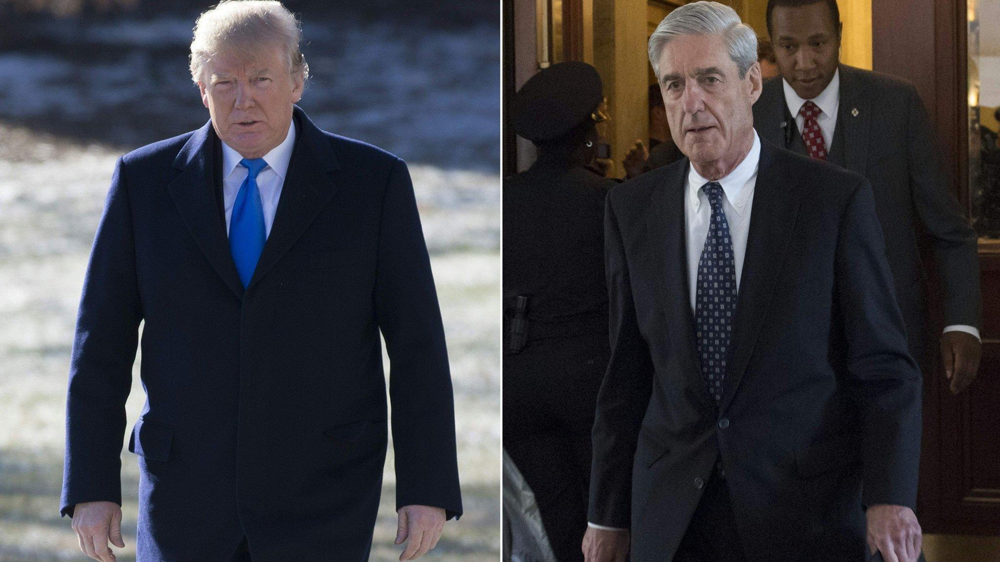 Trump says he will speak under oath to Mueller