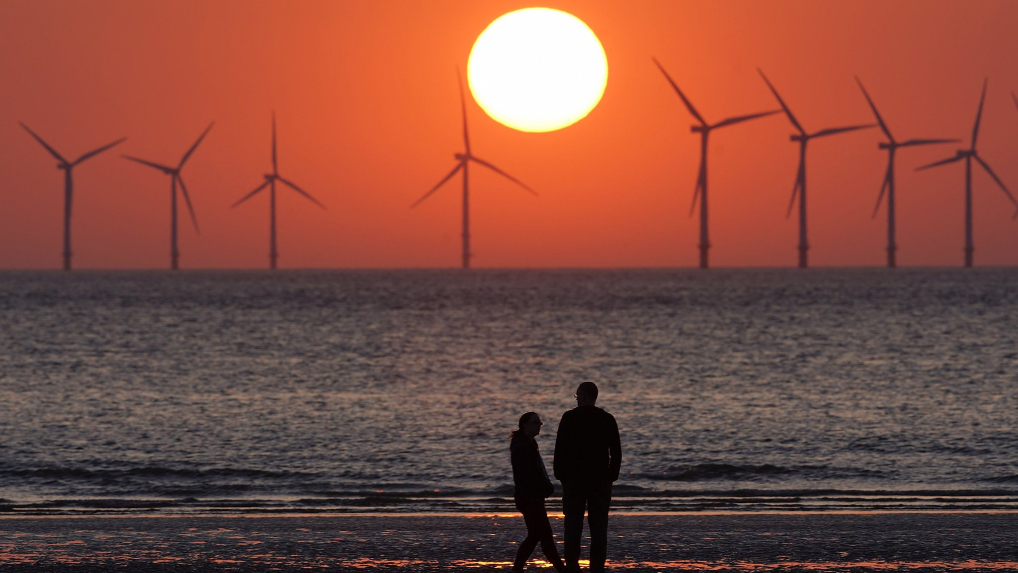 Clean energy outpaces fossil fuel in UK for first time