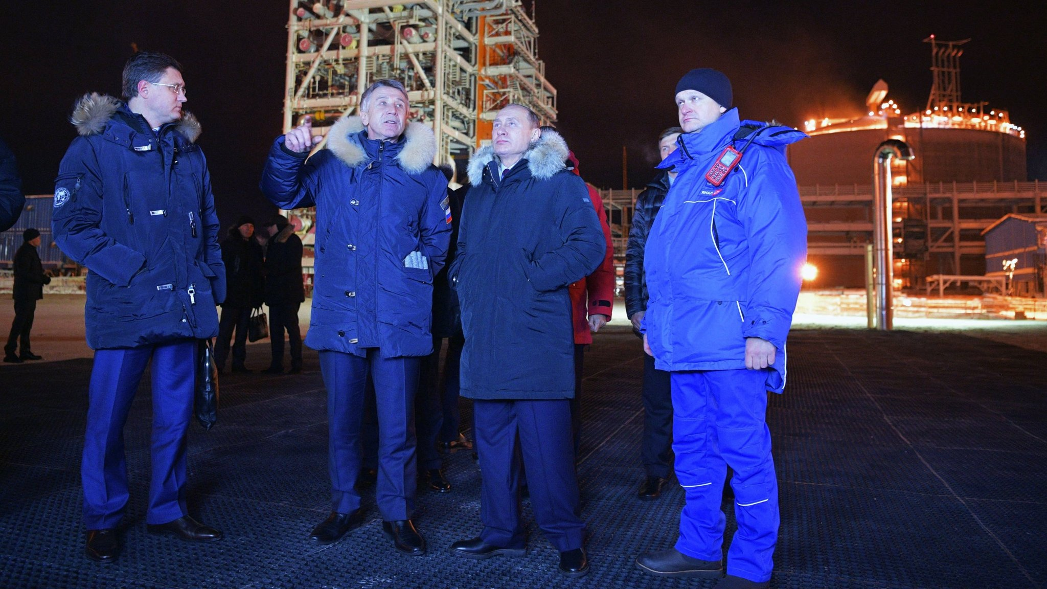 UK turns to Russian project targeted by sanctions for gas supply