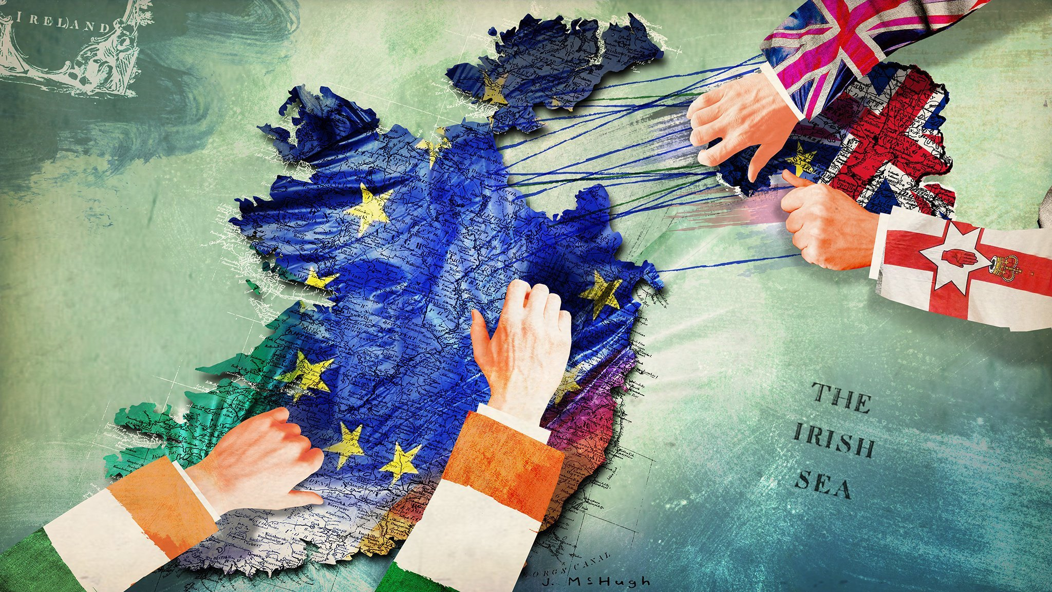 As Brexit approaches, the gulf between Britain and Ireland