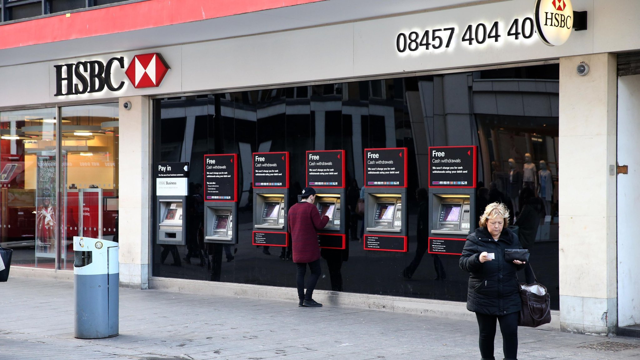 HSBC signals end to UK branch closure programme | Financial