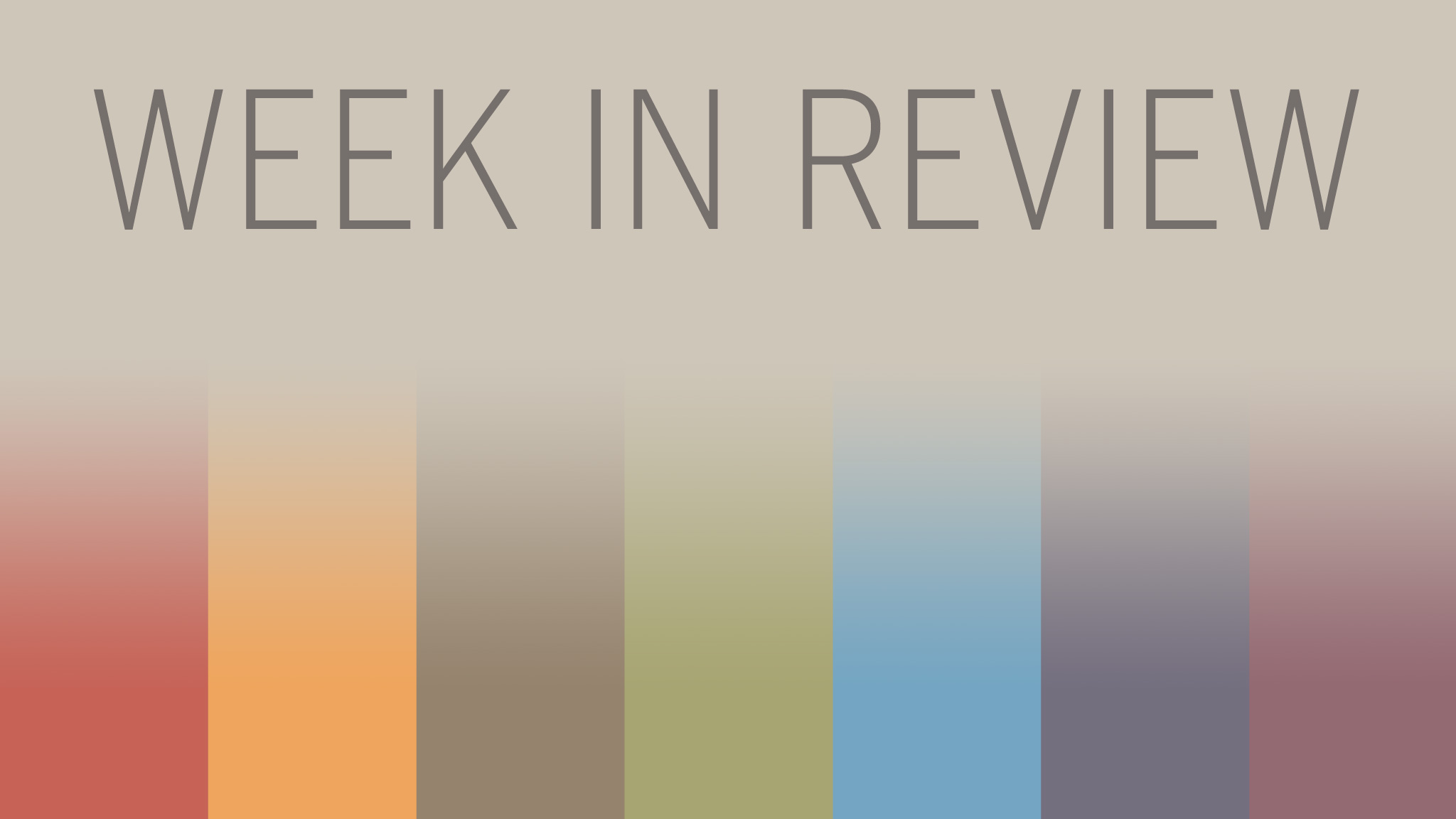Week In Review September 27 Financial Times