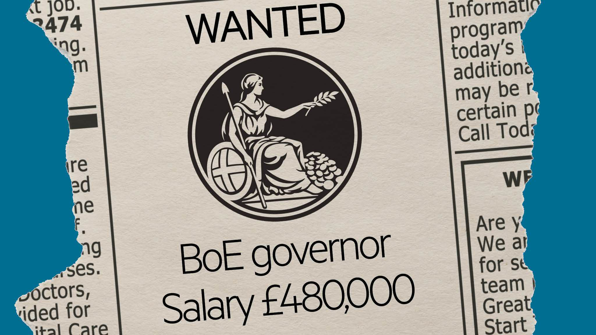 Who will be the next Bank of England governor?