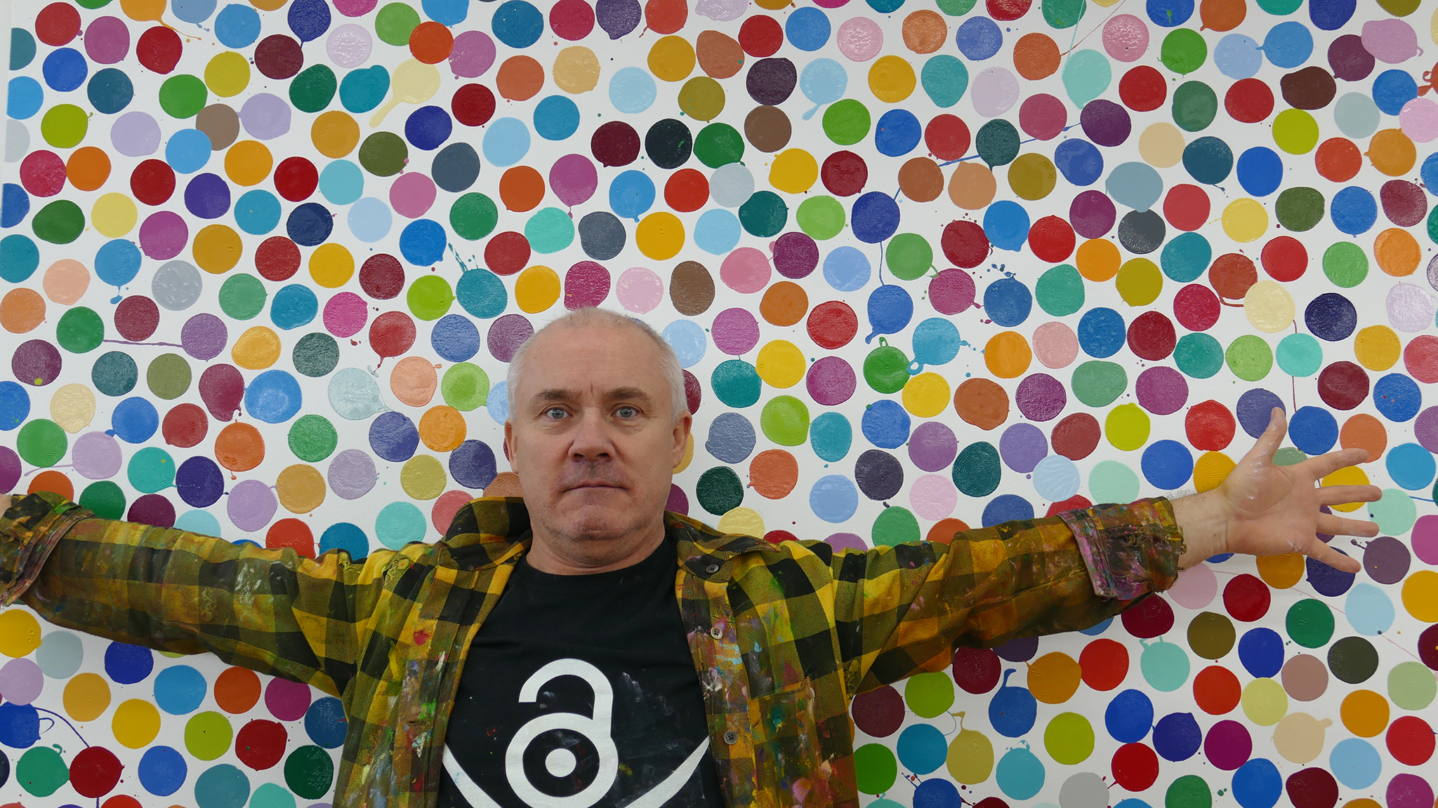 I Thought Maybe I M Not Good Enough Damien Hirst Confronts His Fear Of Painting Financial Times