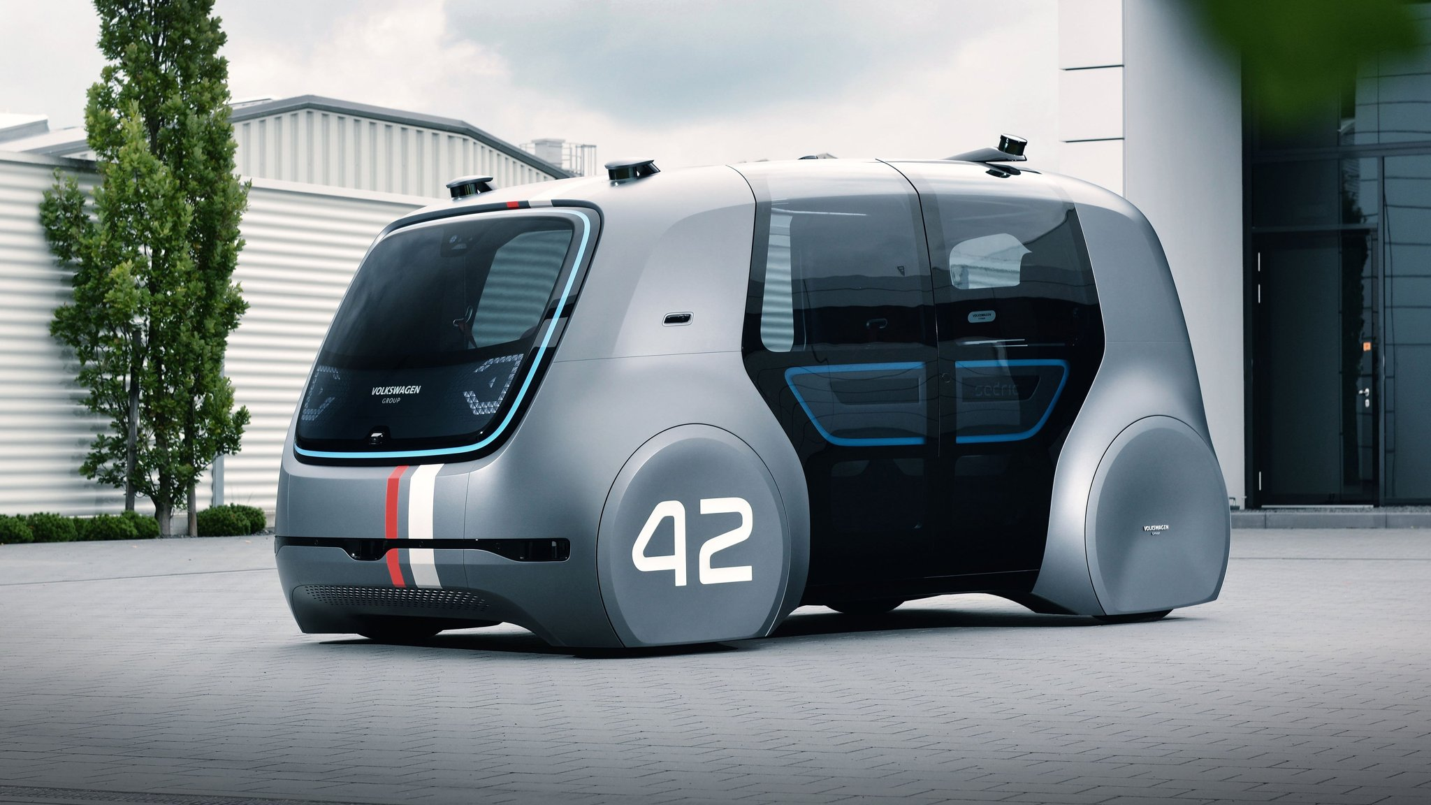 Volkswagen joins forces with Silicon Valley self-driving start-up