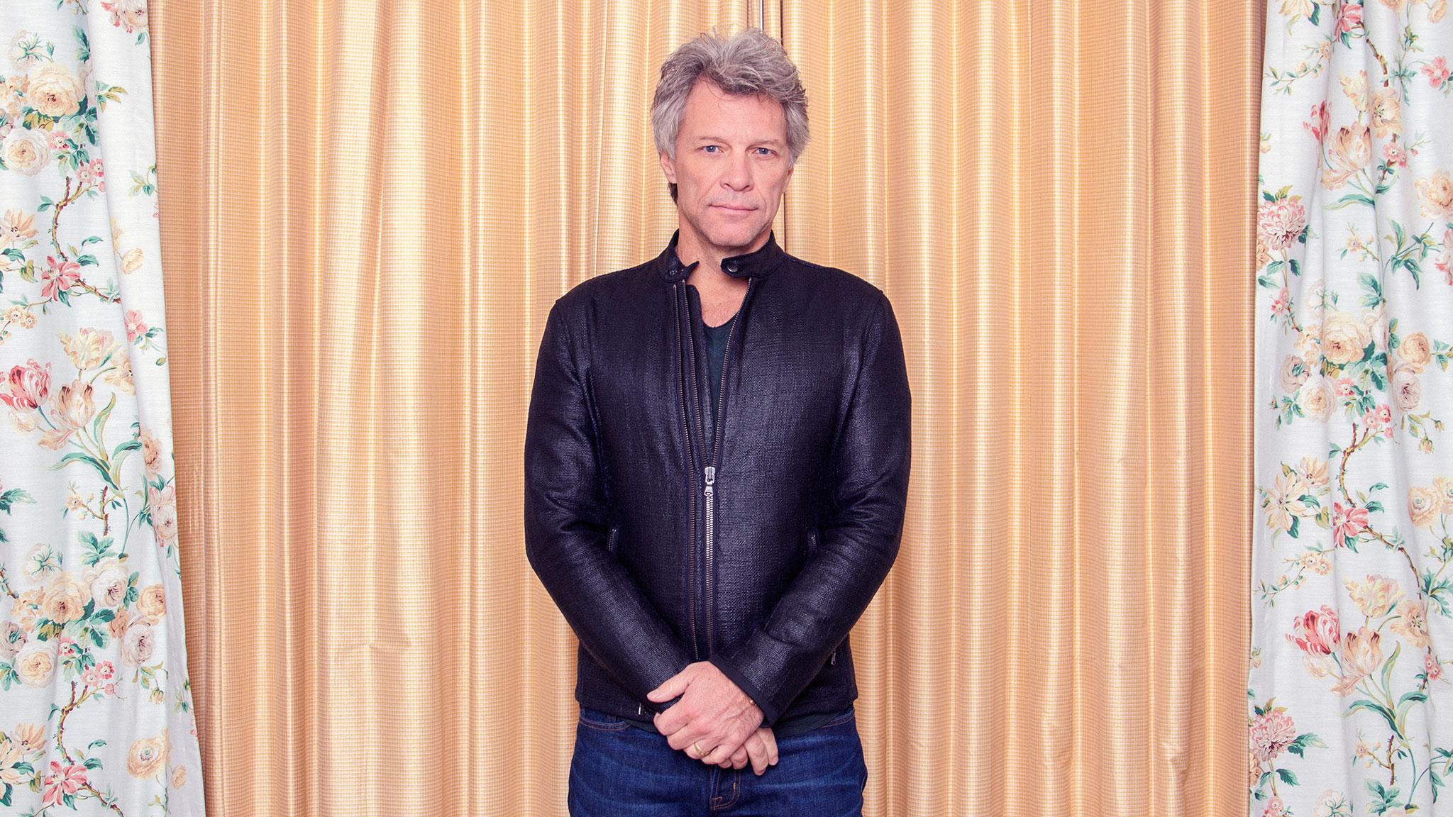Jon Bon Jovi on hard work, losing his wingman and US