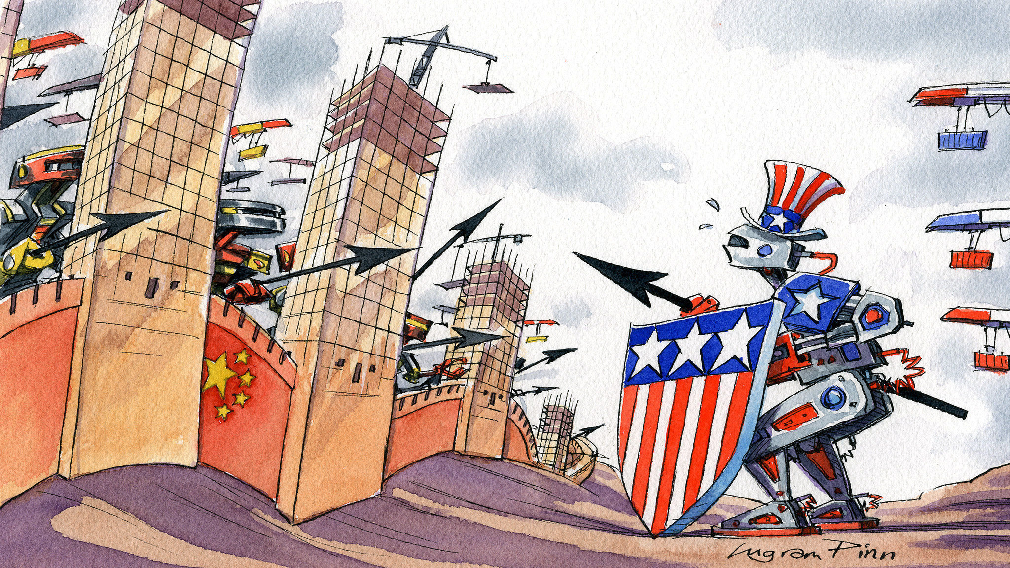Righteous anger from the US will not win the tech war with China