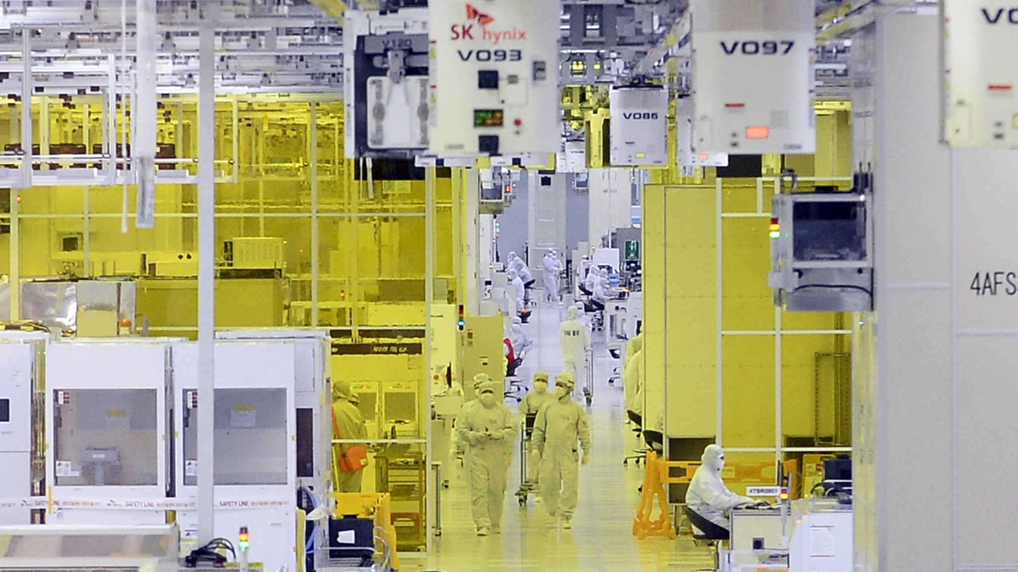 SK Hynix to invest $107bn in 4 new semiconductor plants