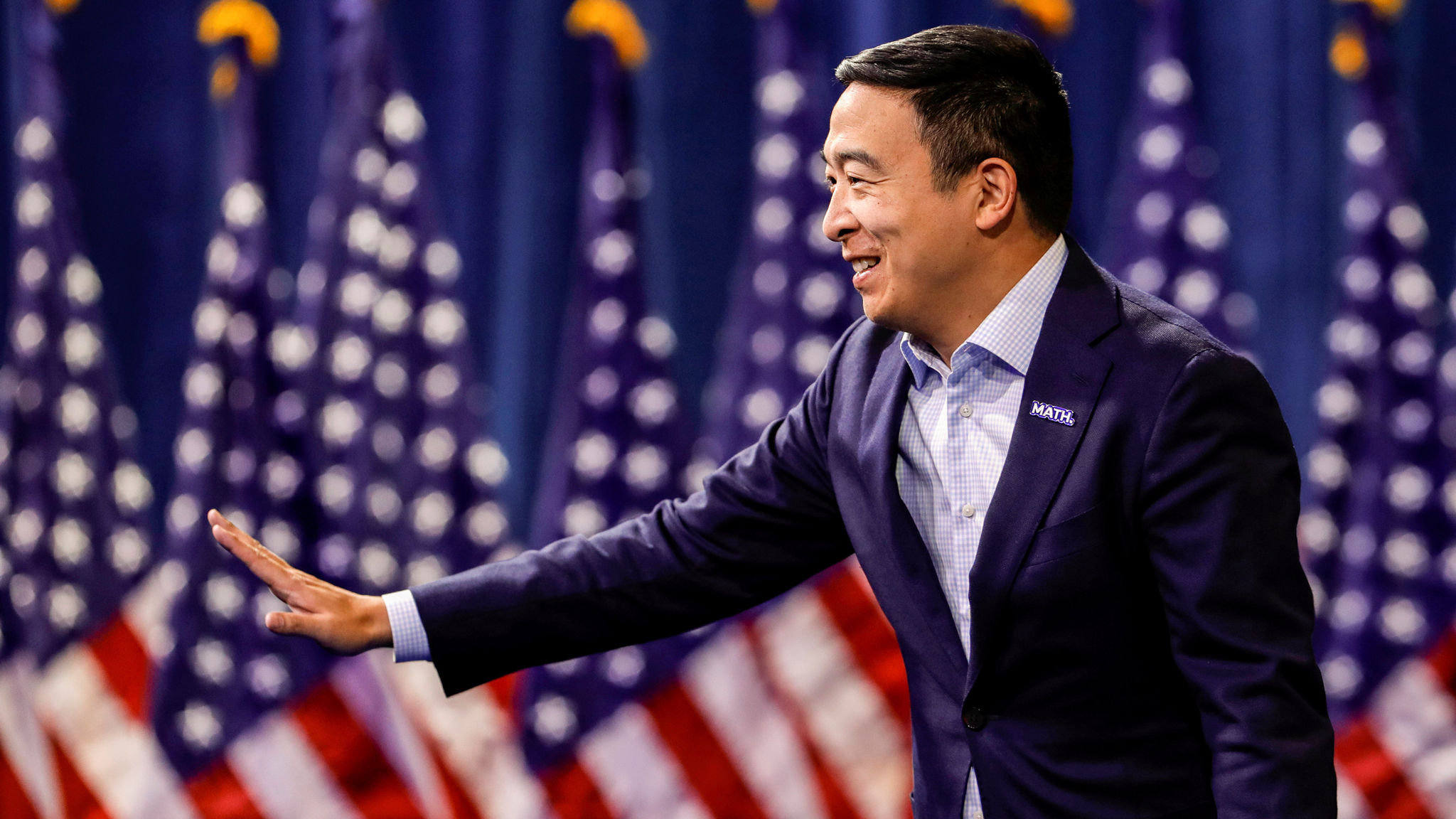 Andrew Yang: Asian American candidate does the maths to enter White House